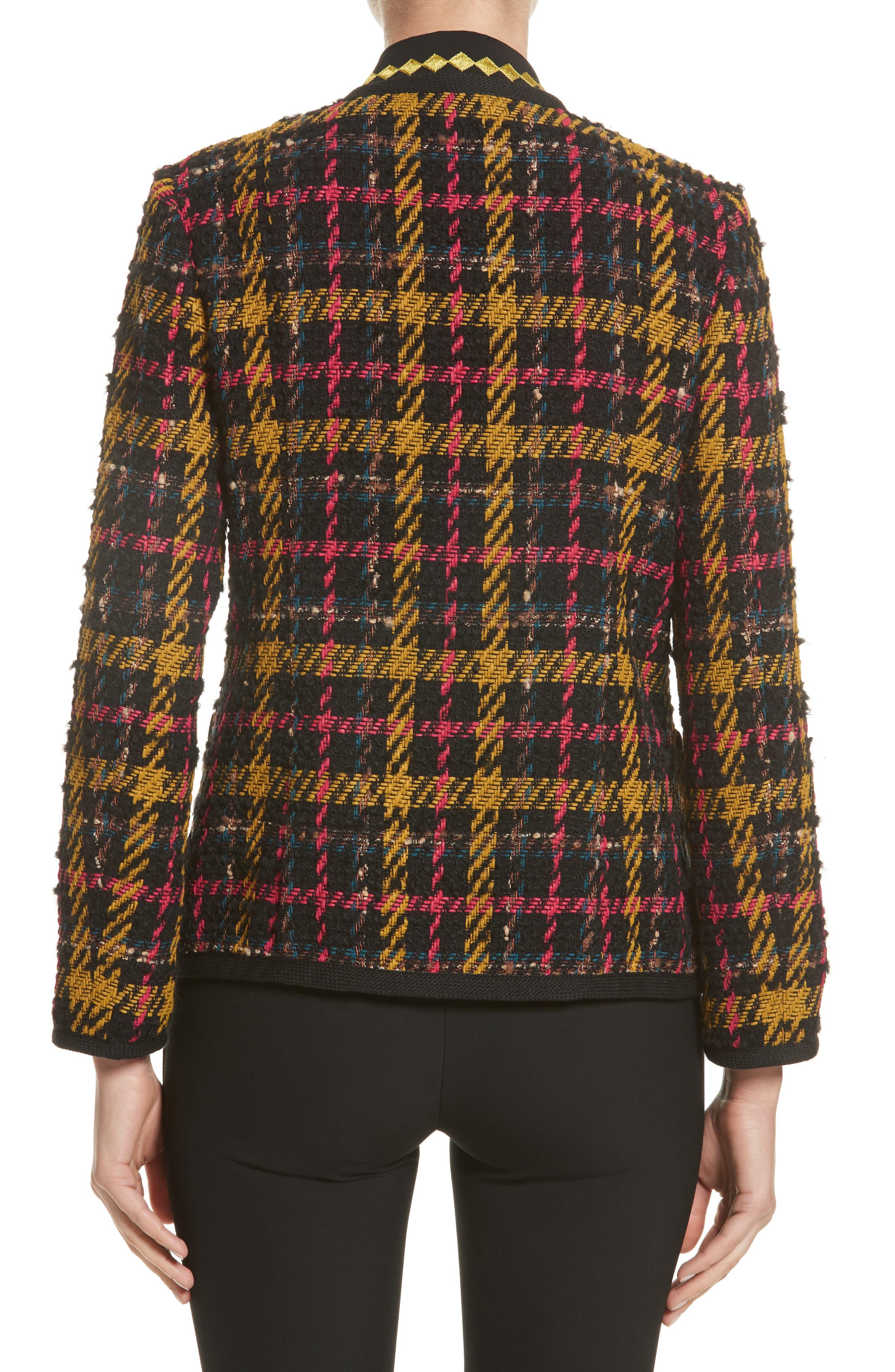 Alternate Image 2  - Etro Plaid Jacket