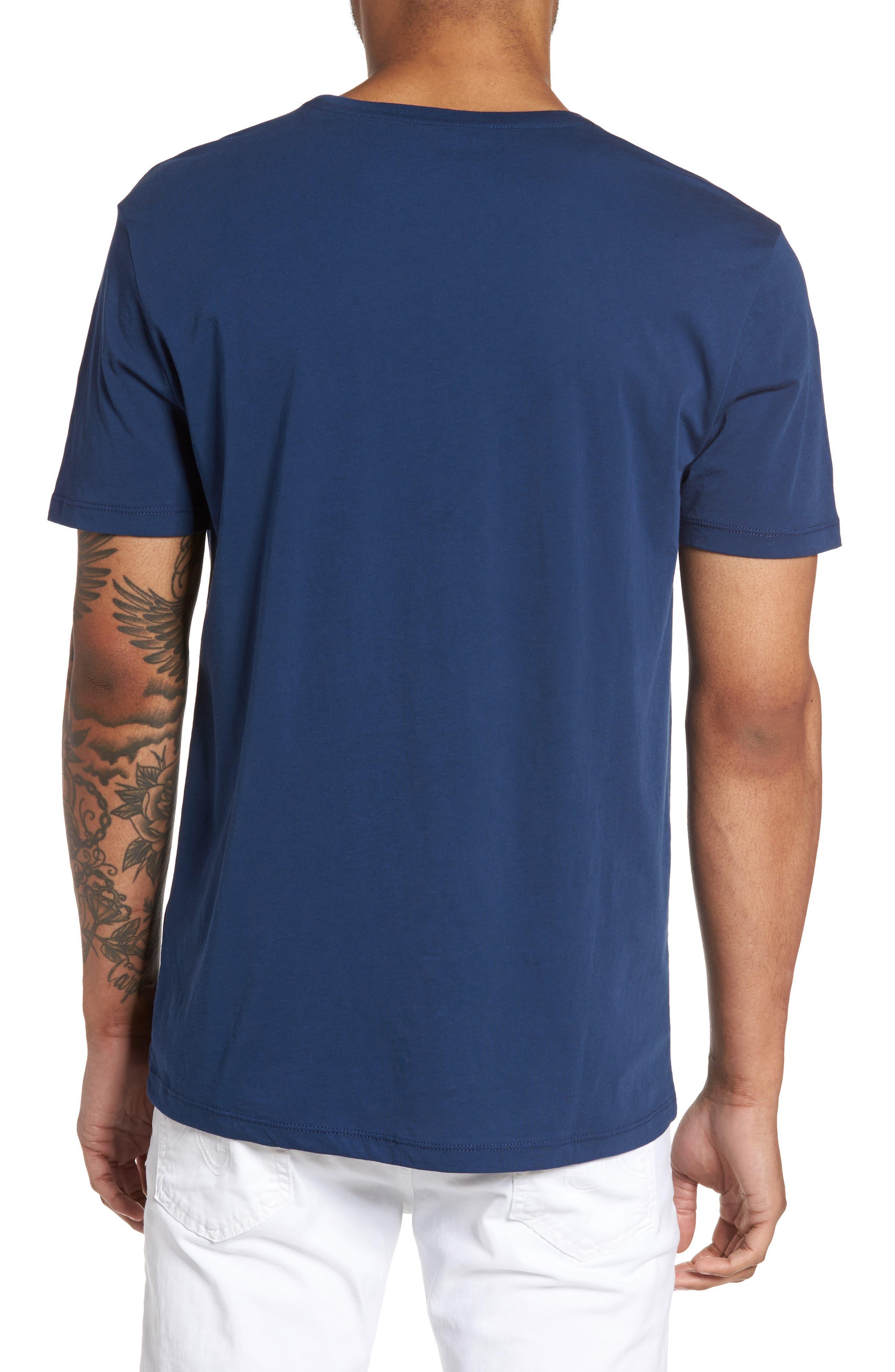 Alternate Image 2  - Slate & Stone Slim Crewneck T-Shirt