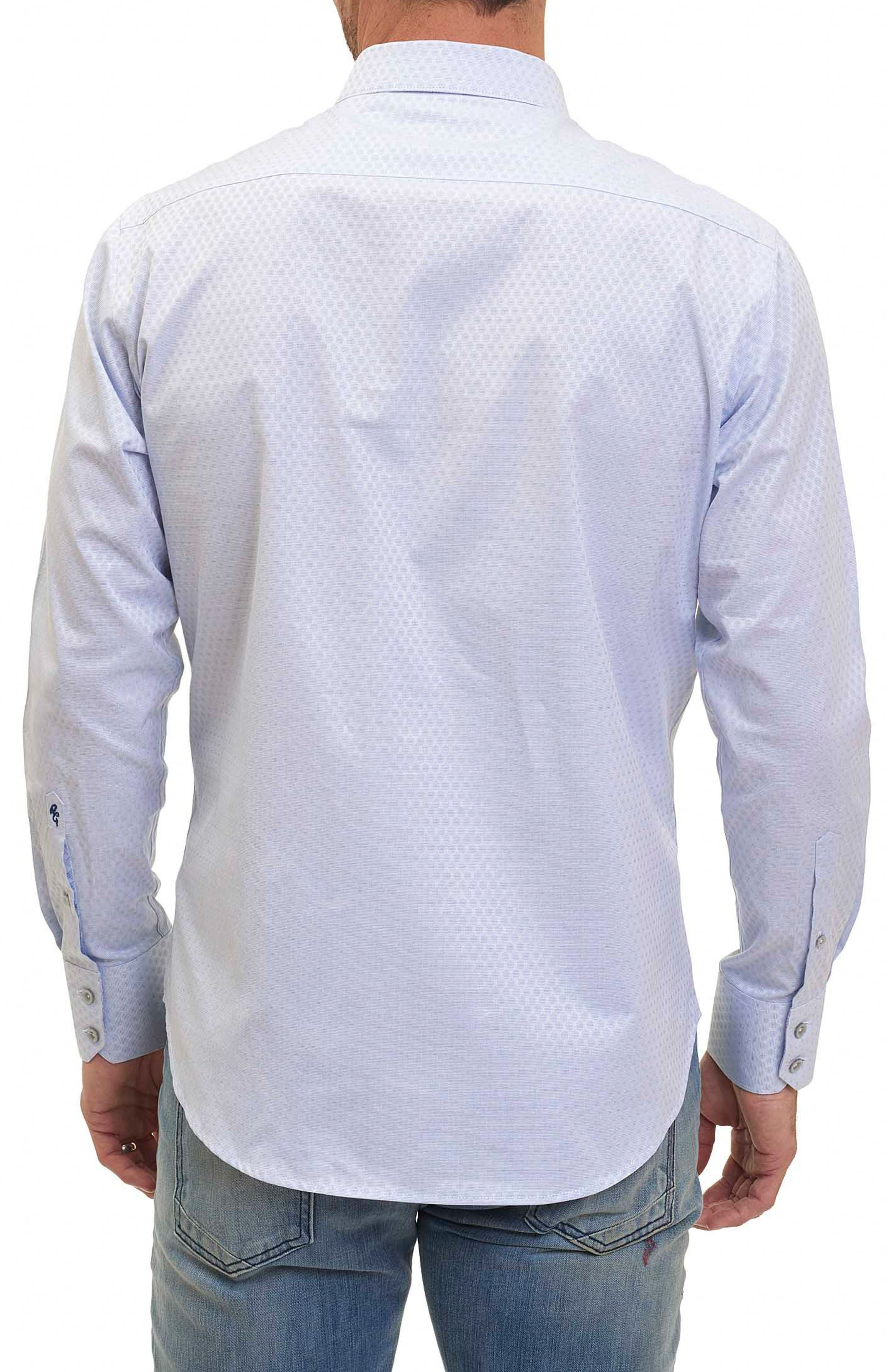 Alternate Image 2  - Robert Graham Classic Fit Print Sport Shirt