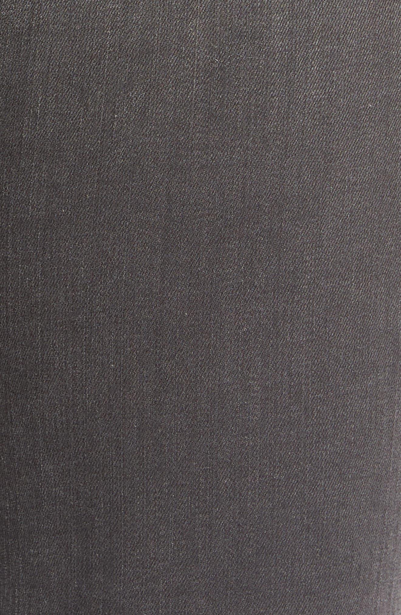 Maria High Waist Skinny Jeans,                             Alternate thumbnail 4, color,                             Nightbird