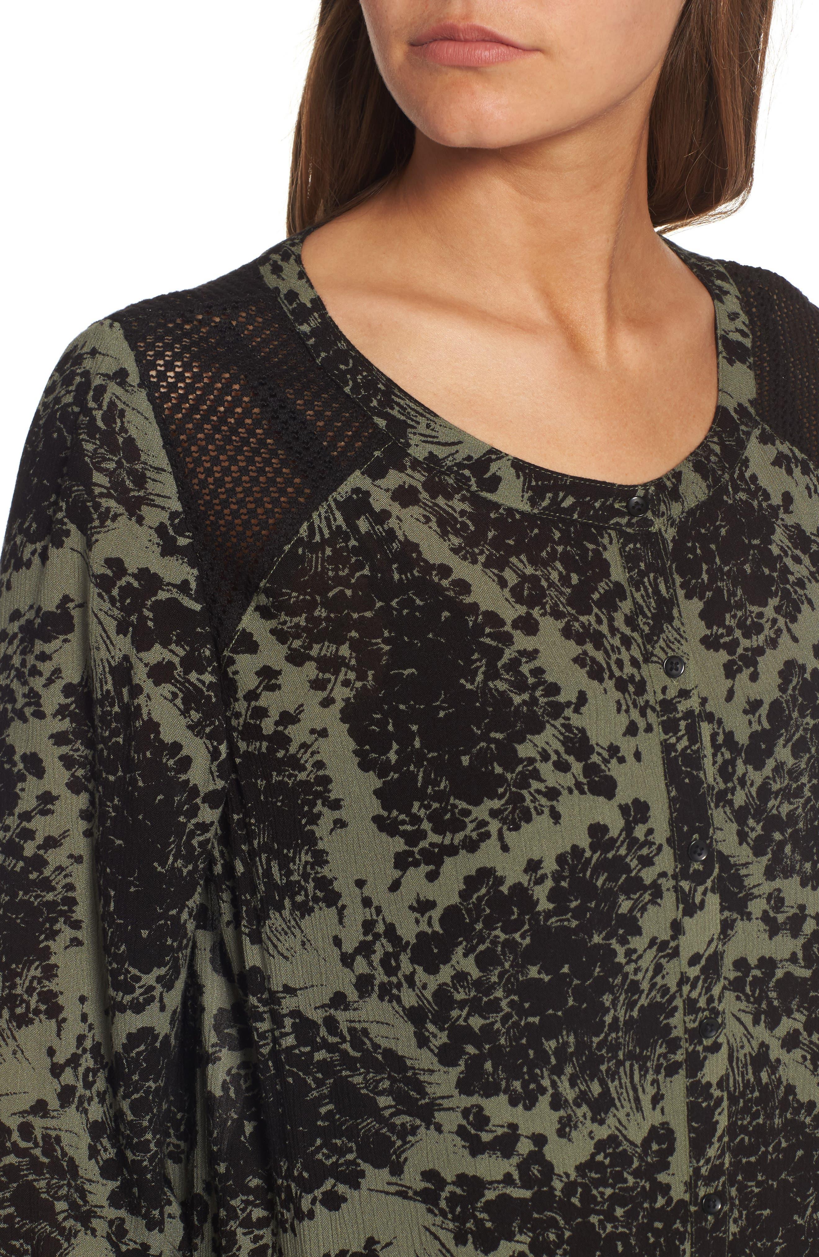 Alternate Image 4  - Hinge Button Front Dress
