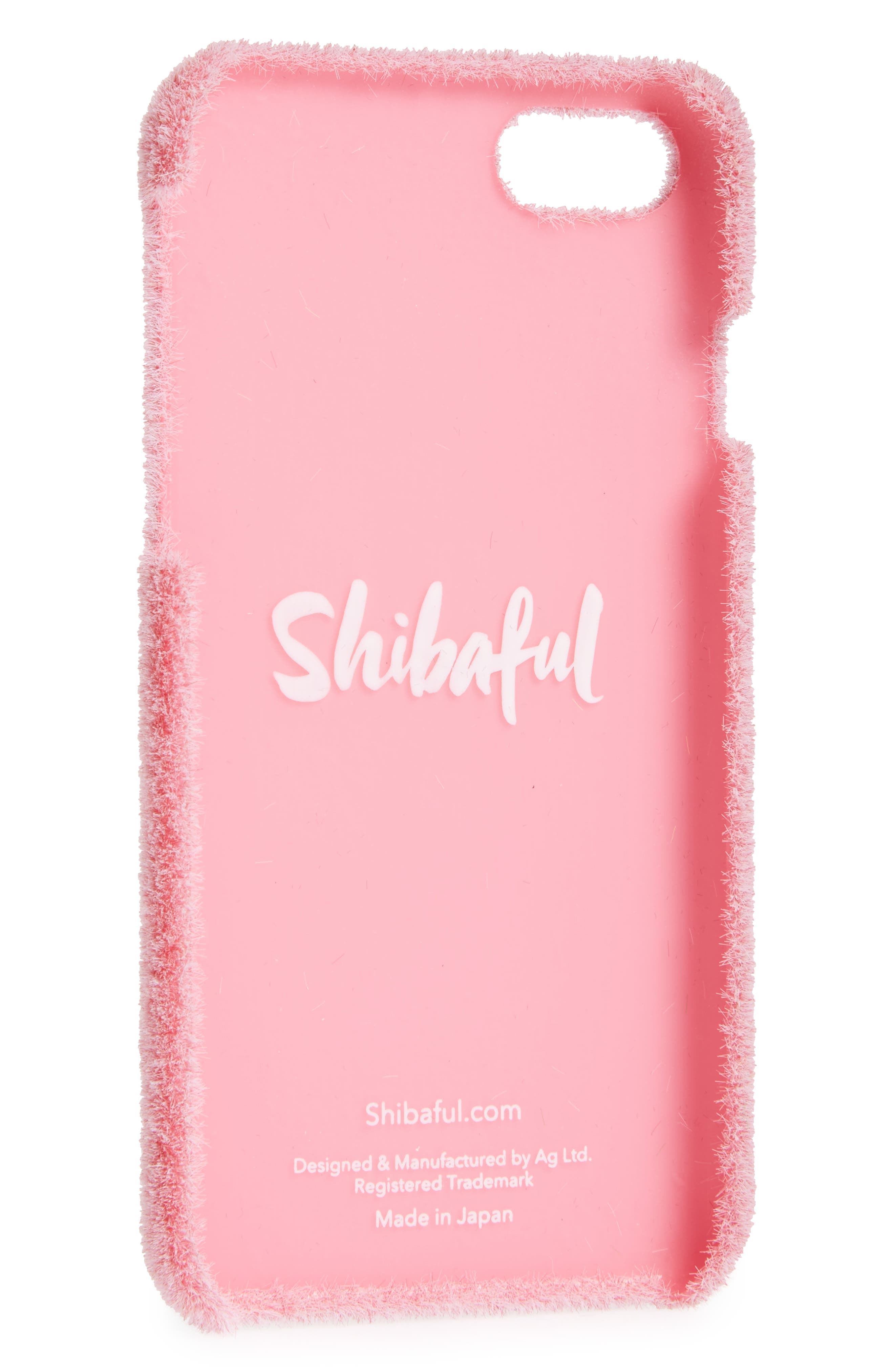 Alternate Image 2  - Shibaful Cherry Blossom Portable Park iPhone 7 & iPhone 7 Plus Case