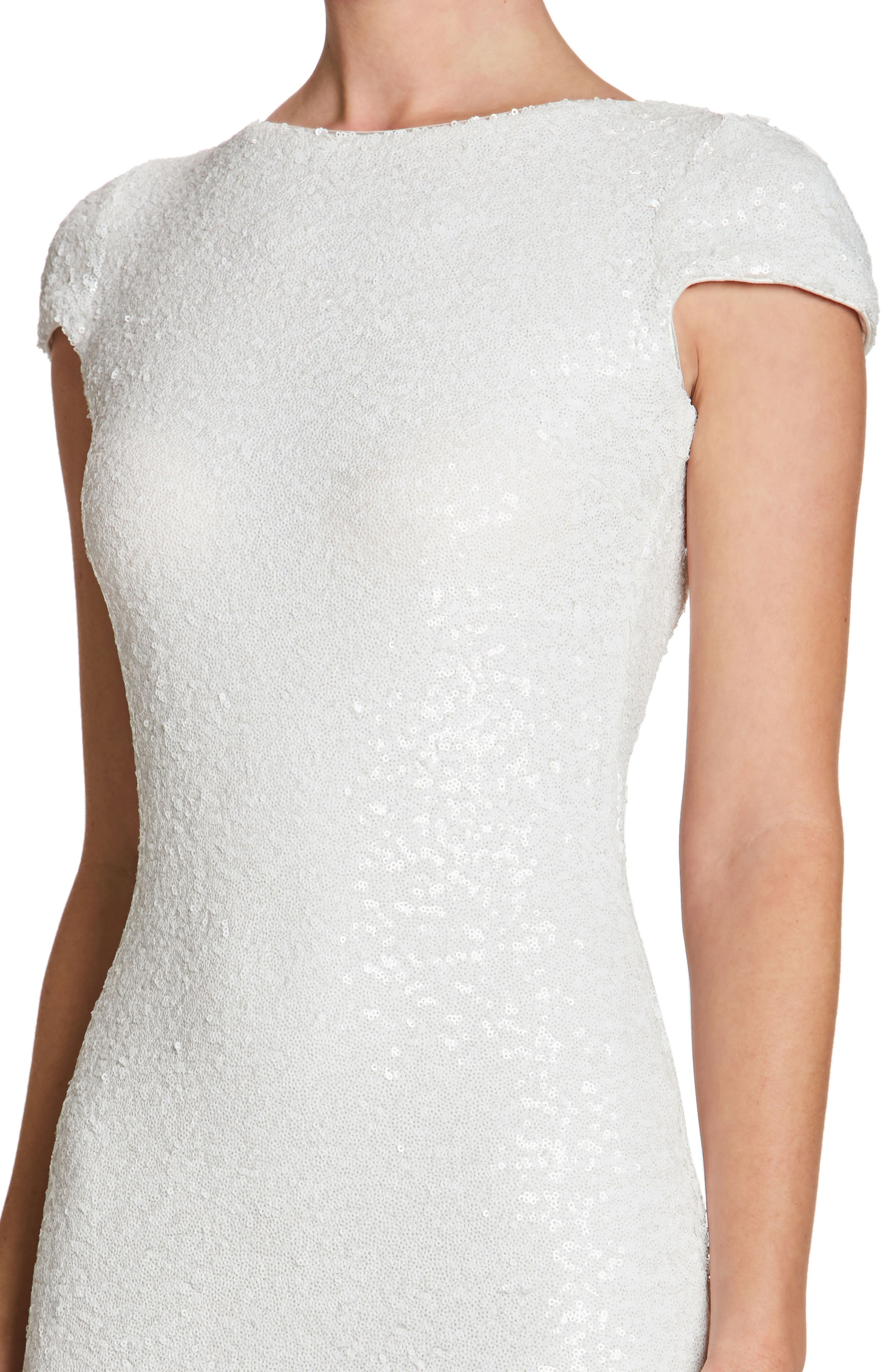 Alternate Image 4  - Dress the Population Teresa Body-Con Gown (Nordstrom Exclusive)