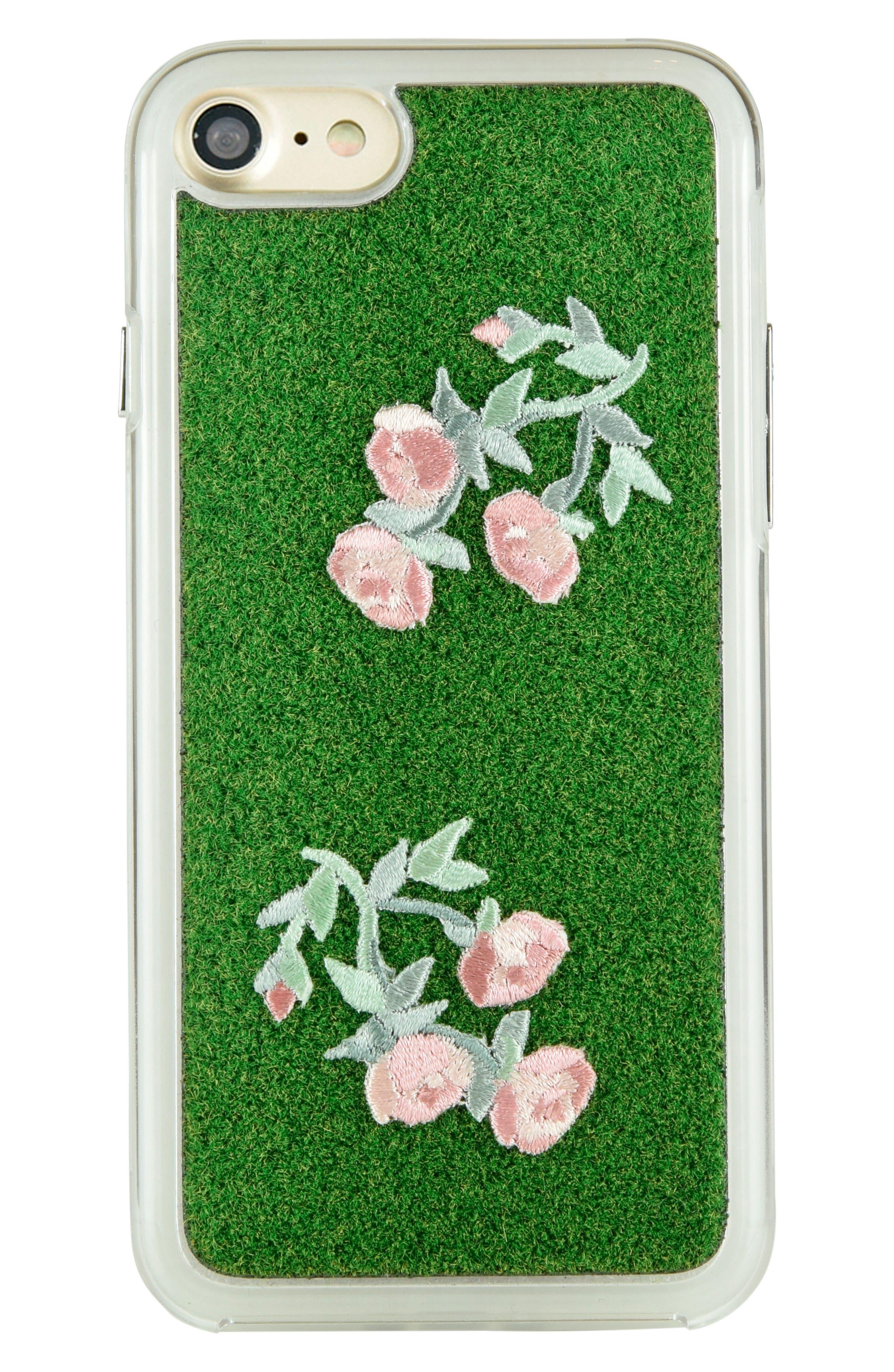 Main Image - Shibaful Mini Rose Portable Park iPhone 7 & iPhone 7 Plus Case