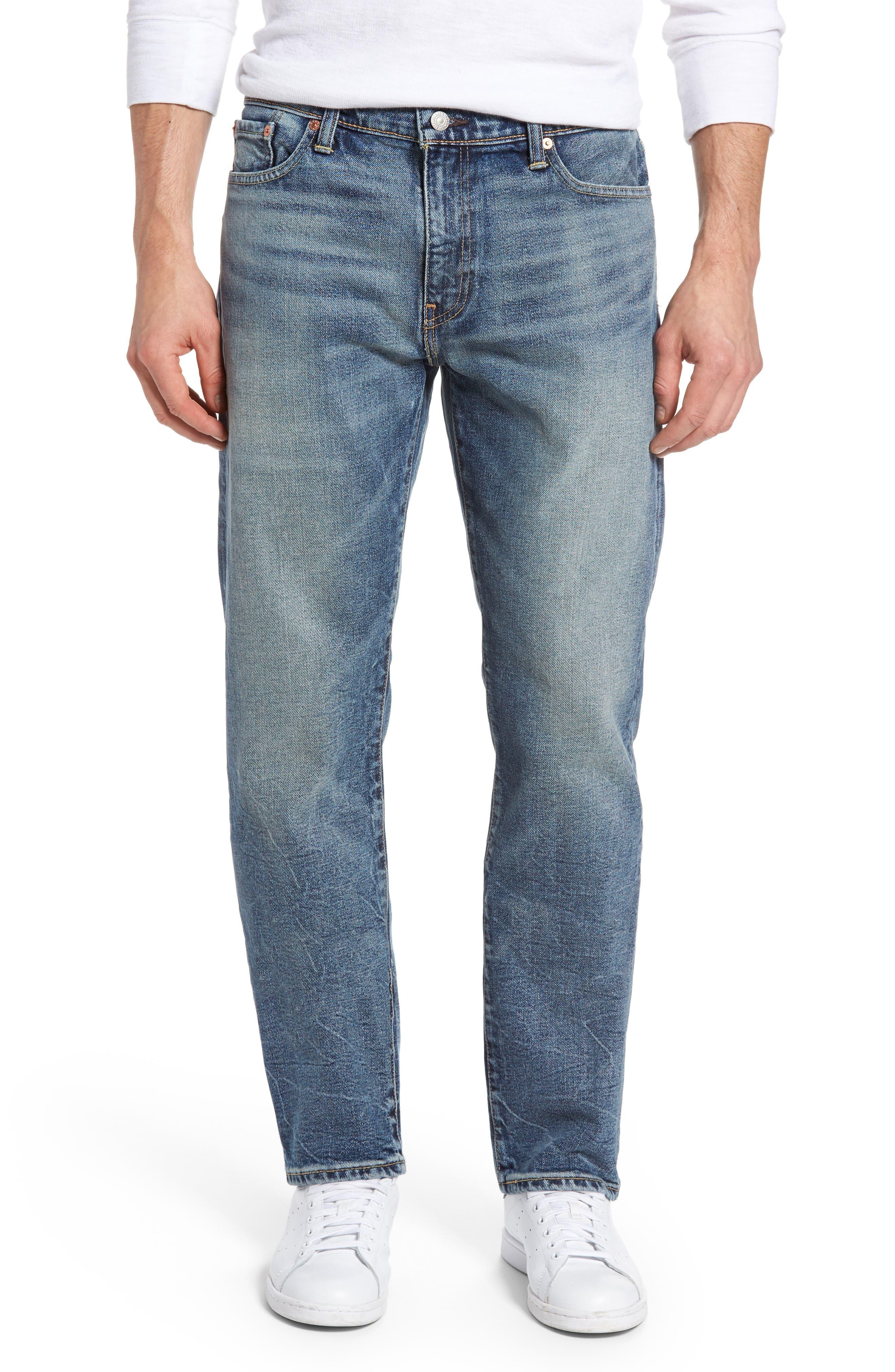 Alternate Image 1 Selected - Levi's® 513™ Slim Straight Leg Jeans (Danz)