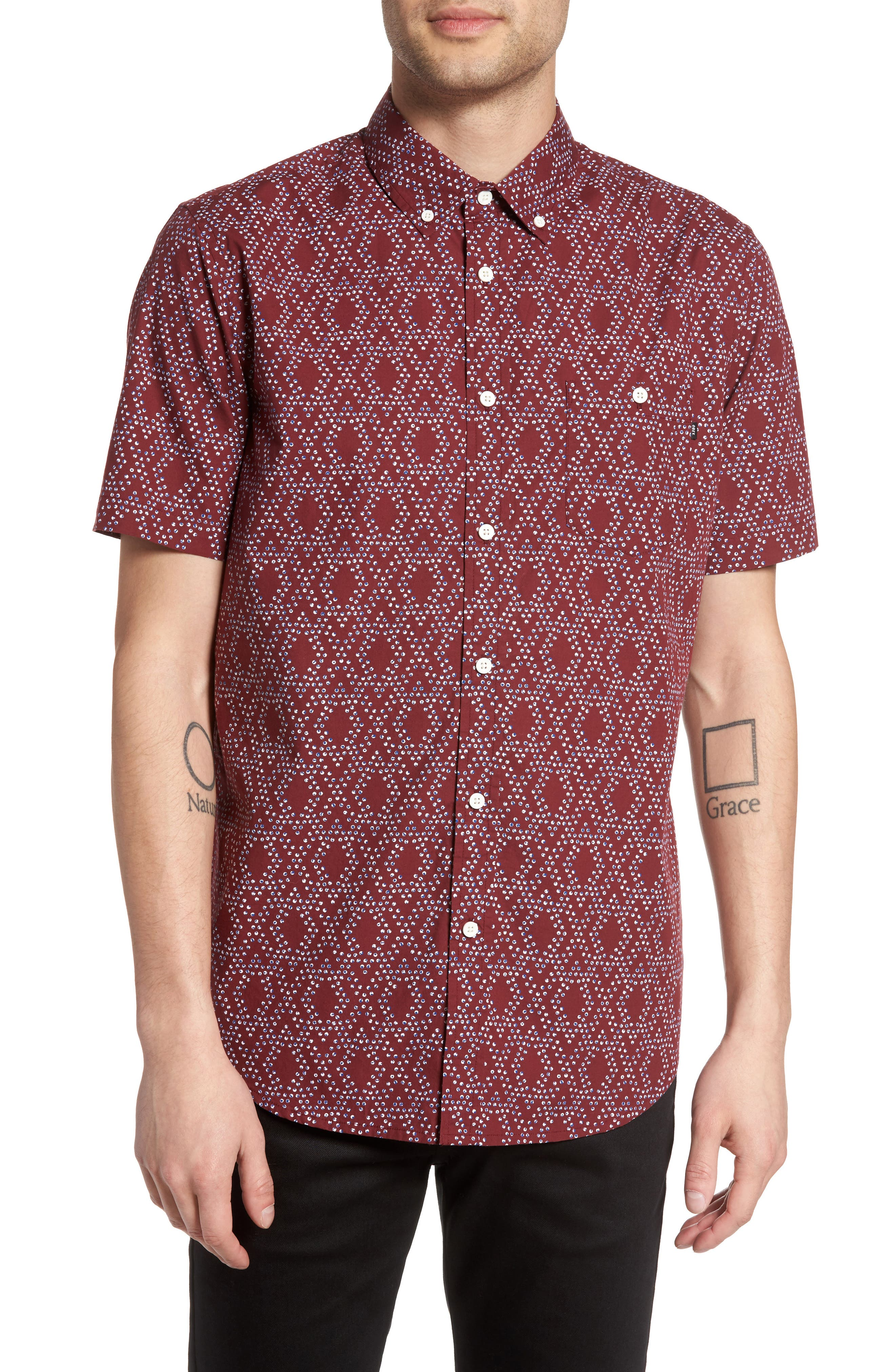 Obey Hale Woven Shirt