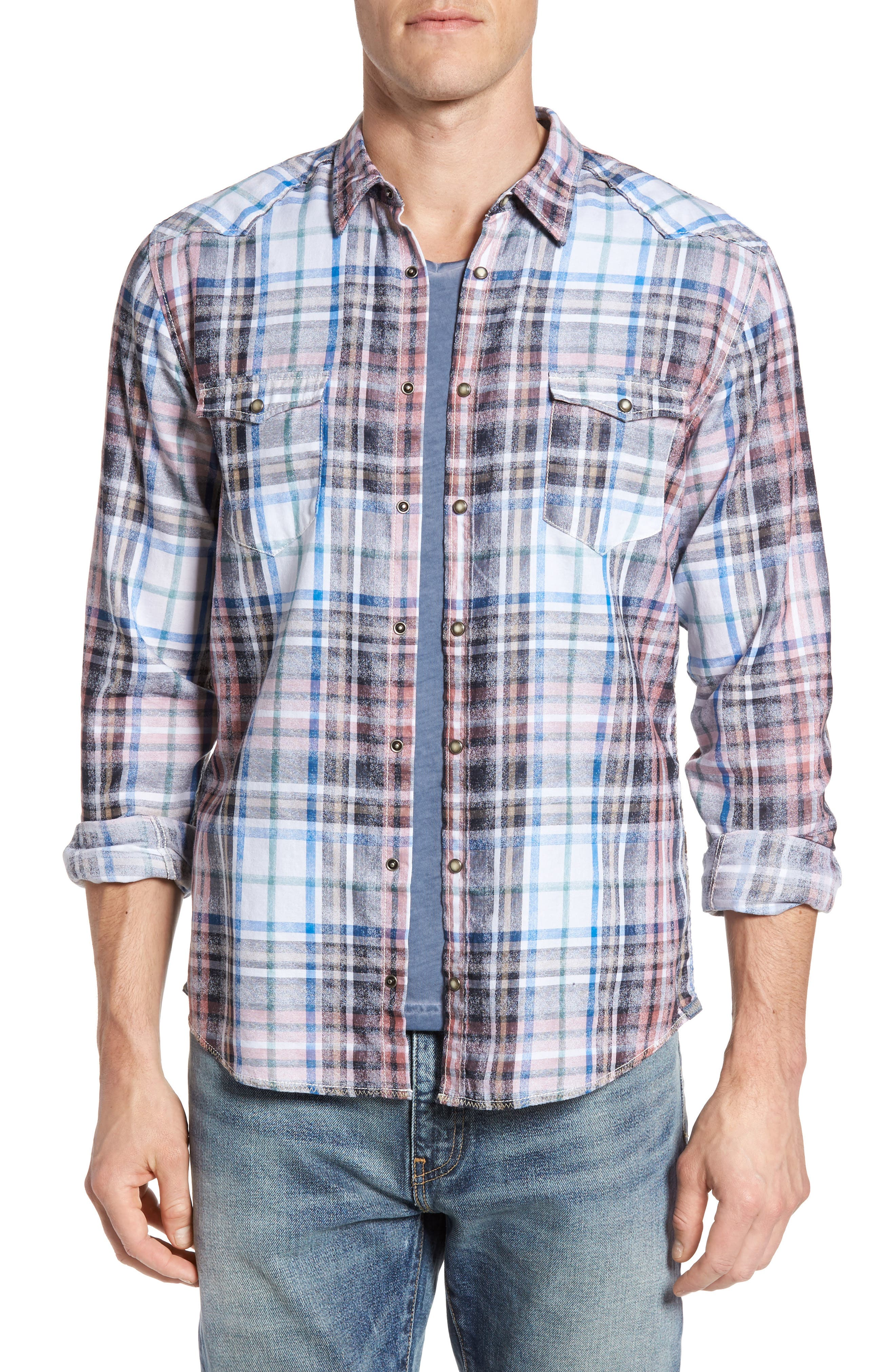 BOSS Orange Erodeo Plaid Shirt