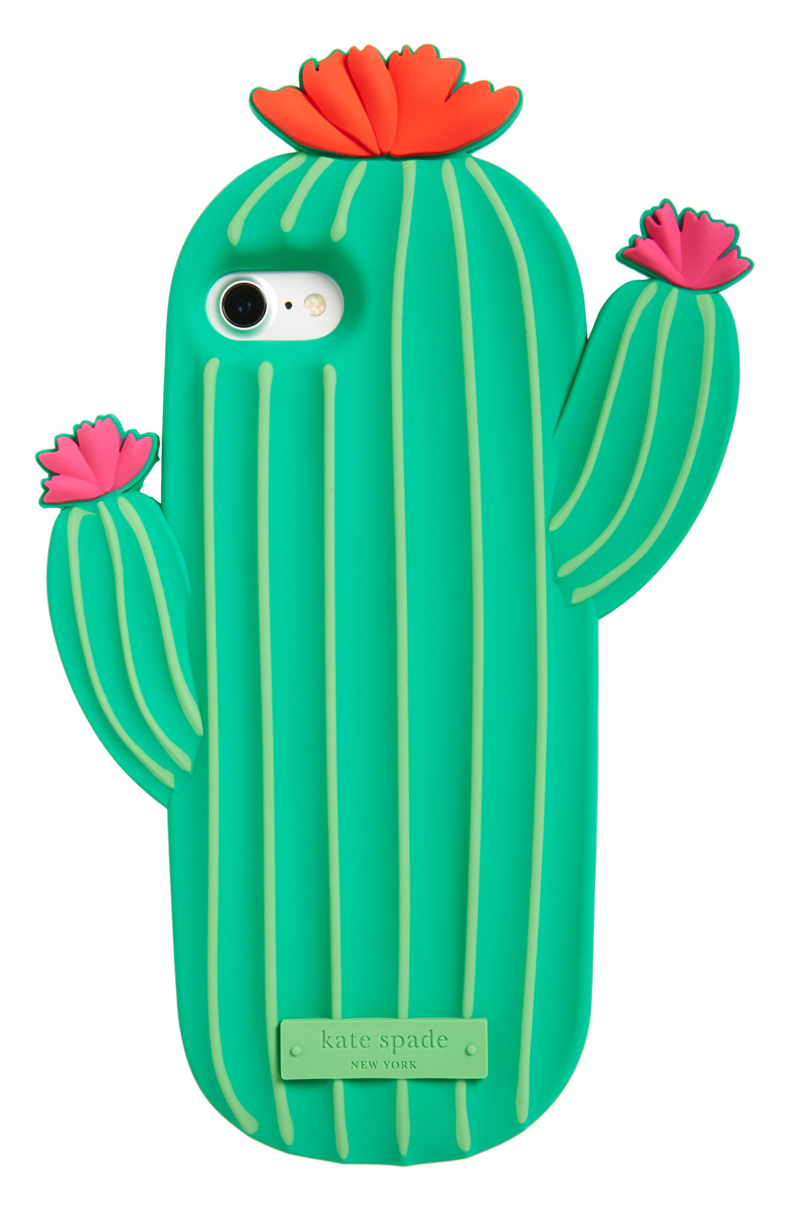 kate spade new york cactus iPhone 7/8 case