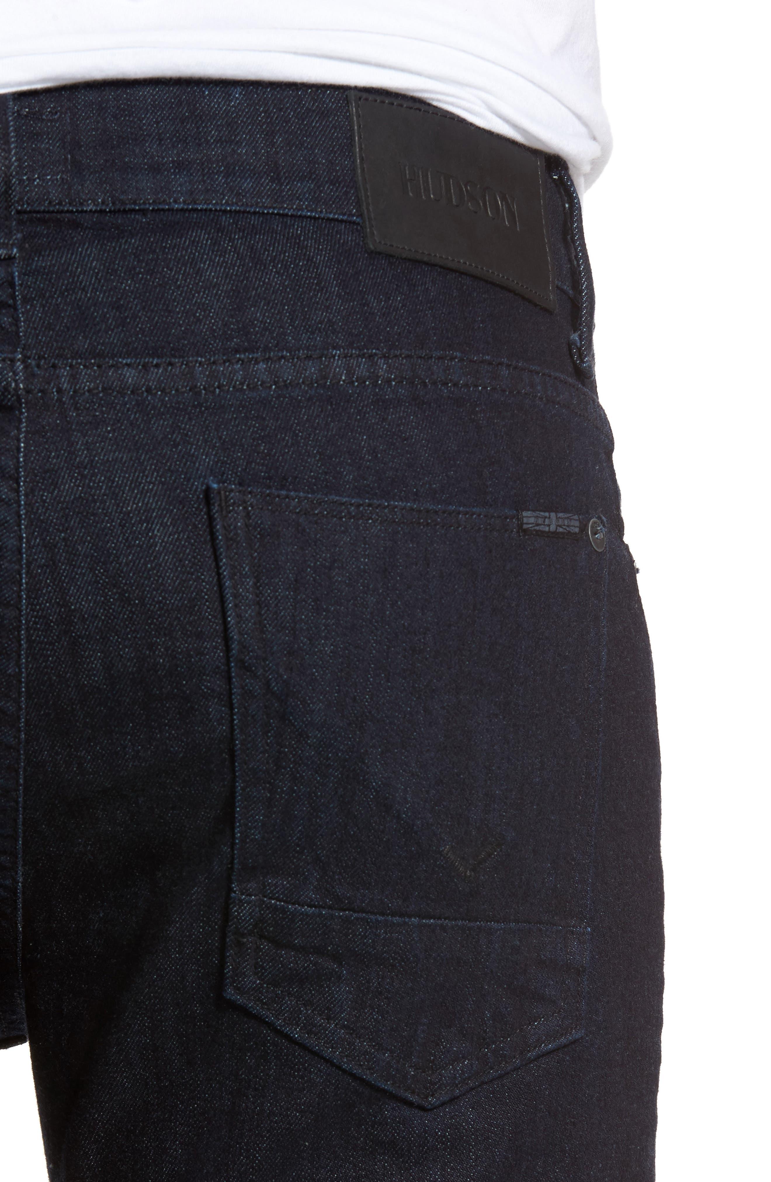 Alternate Image 4  - Hudson Jeans Axl Skinny Fit Jeans (Firestone)