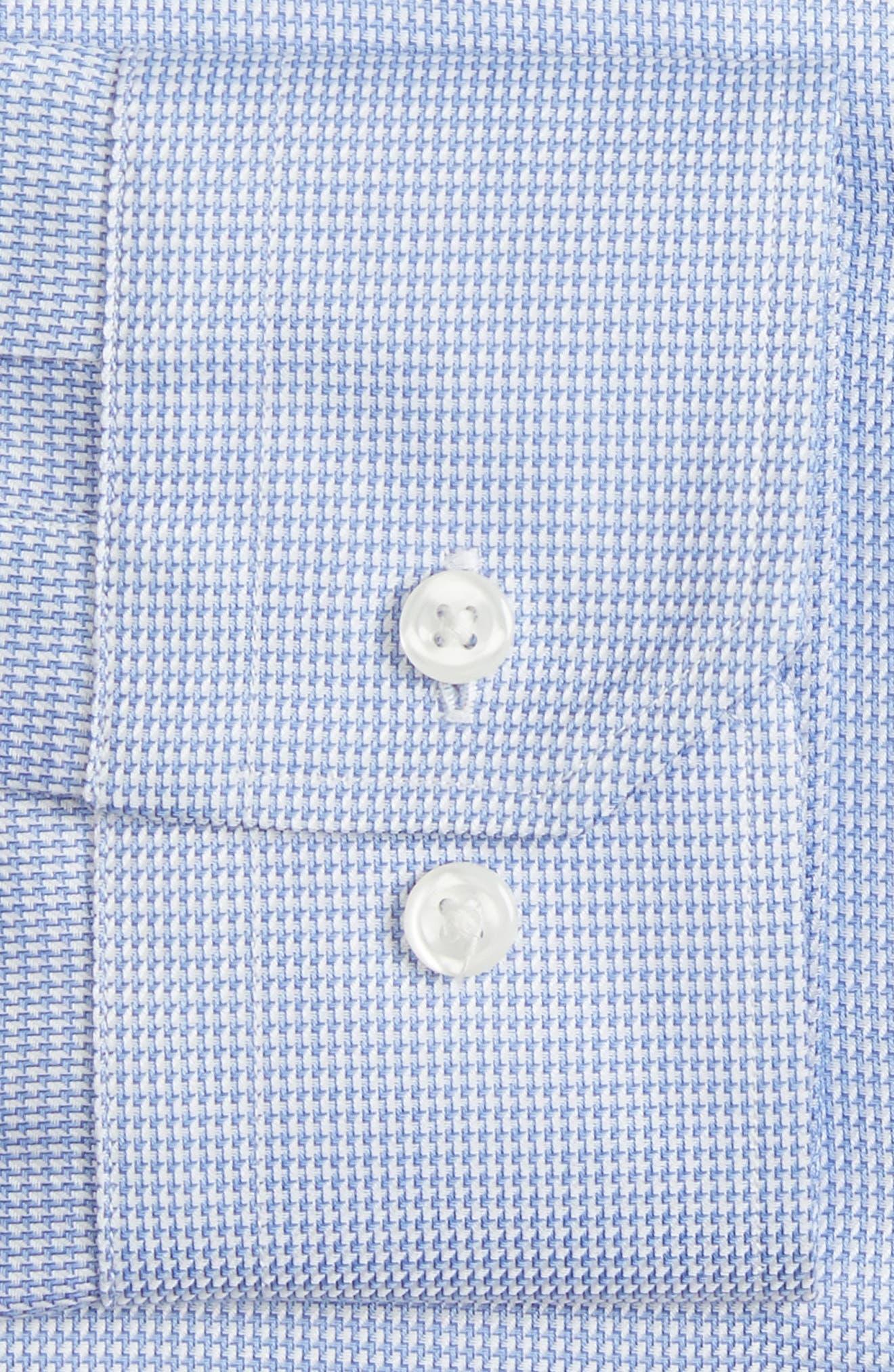 Alternate Image 4  - John W. Nordstrom® Trim Fit Solid Dress Shirt