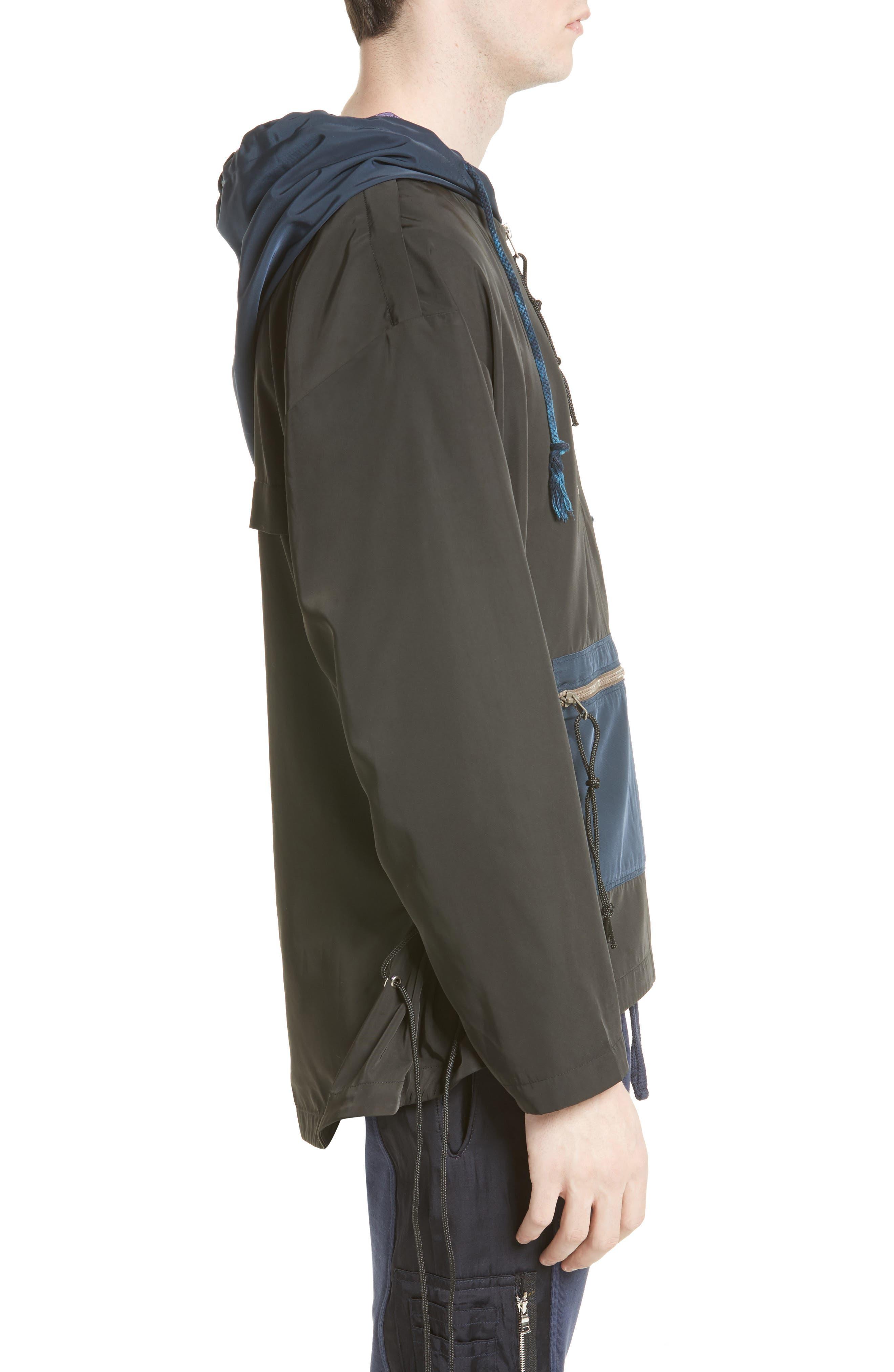 Alternate Image 3  - Drifter Brooks Side Lace Hooded Jacket