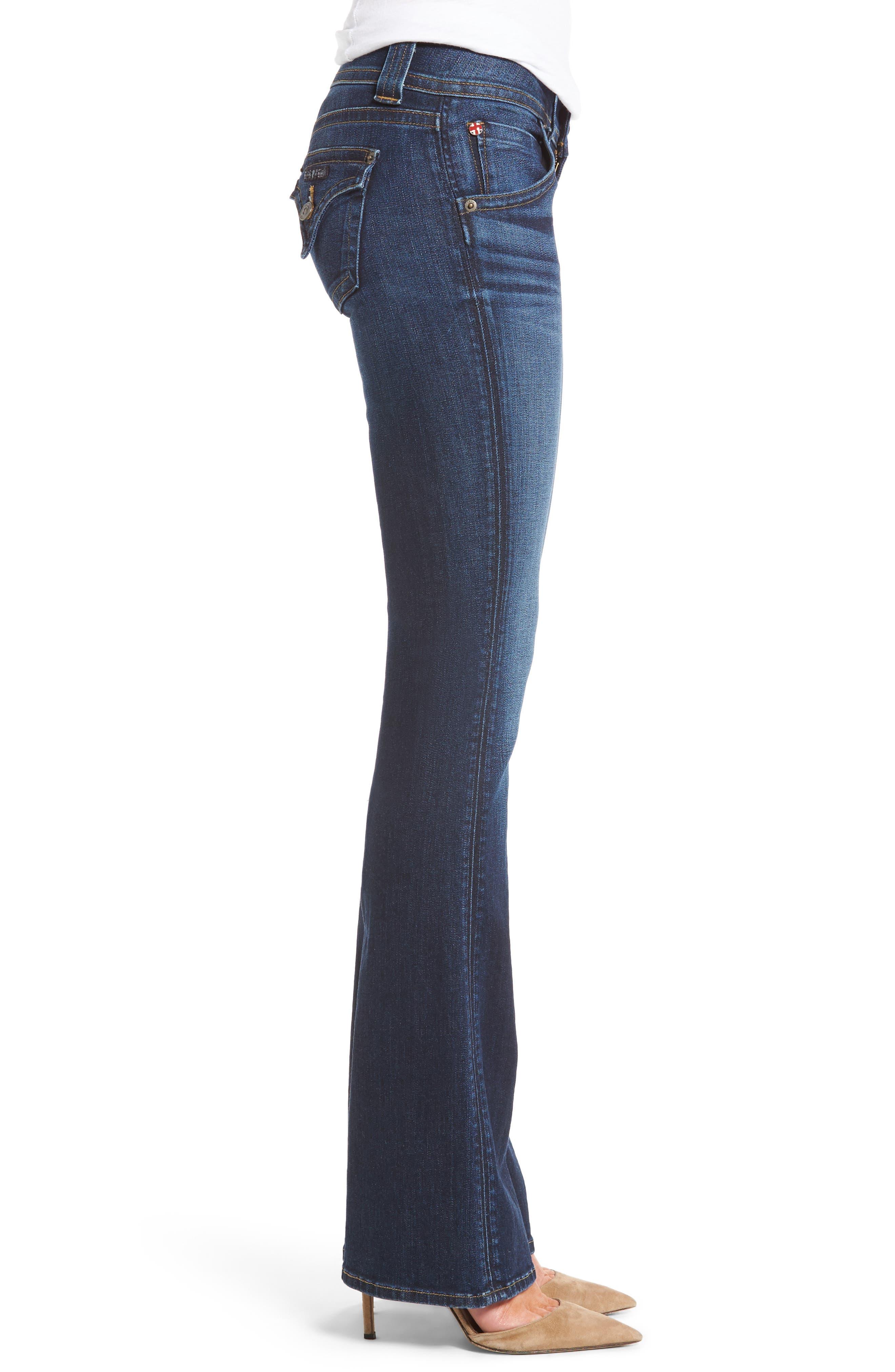 Signature Petite Bootcut Jeans,                             Alternate thumbnail 3, color,                             Patrol Unit