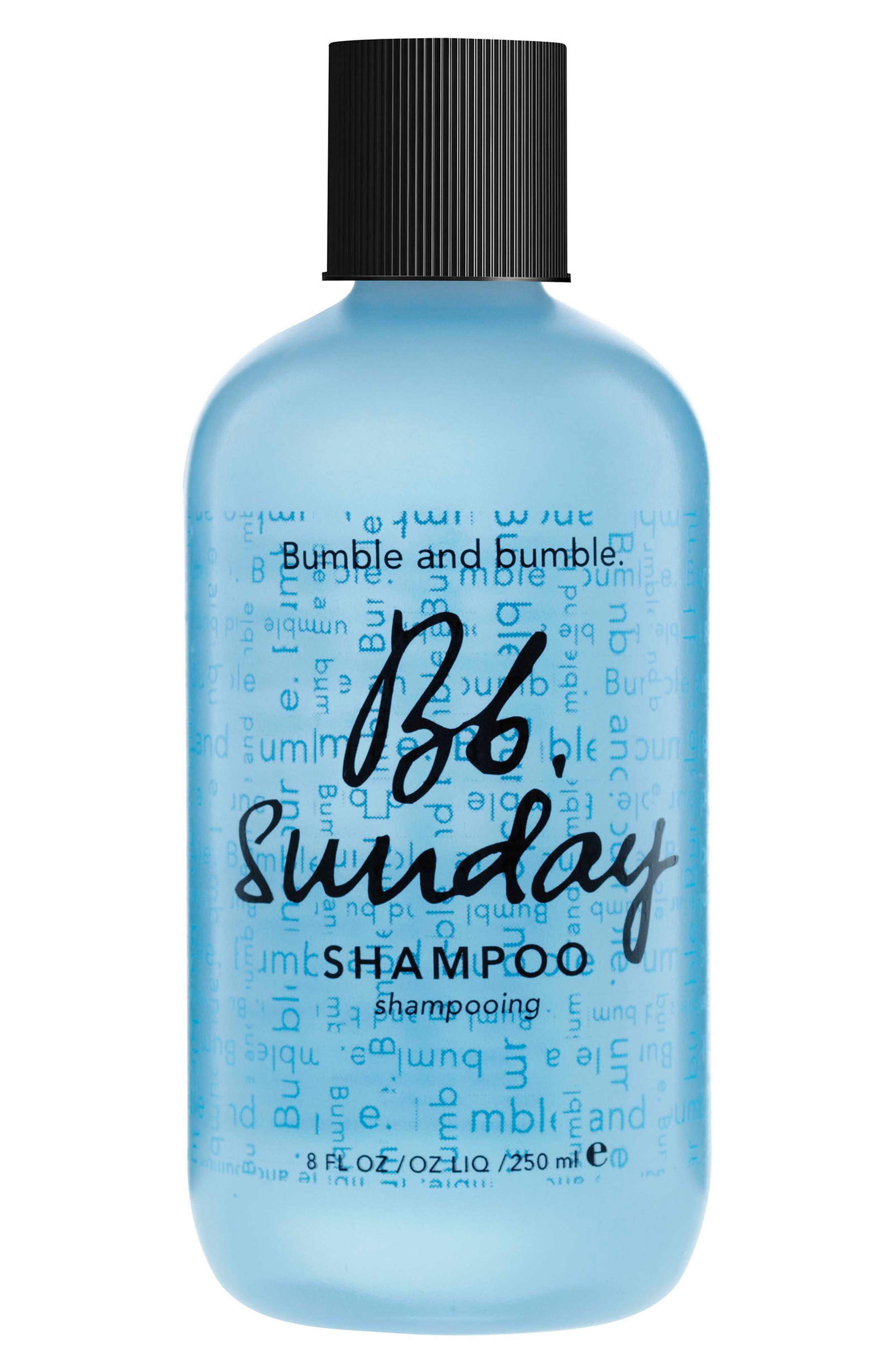 Sunday Shampoo,                             Main thumbnail 1, color,                             No Color