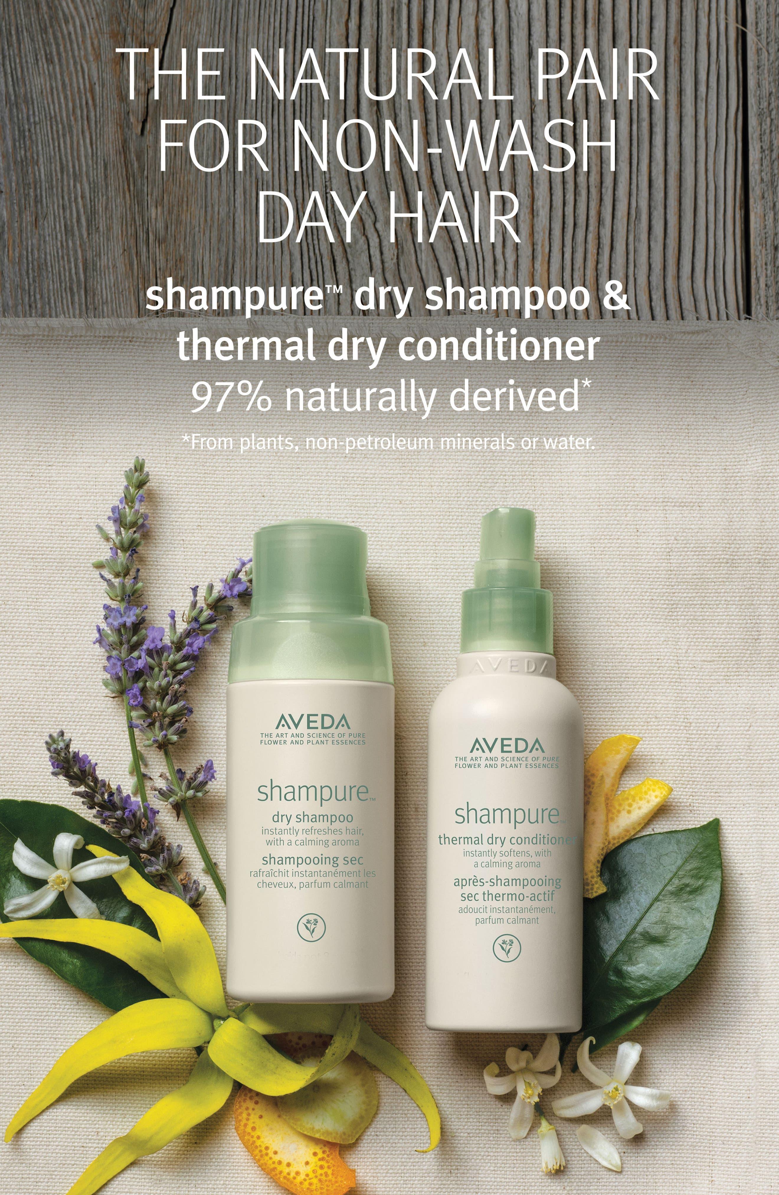 Alternate Image 2  - Aveda shampure™ Thermal Dry Conditioner