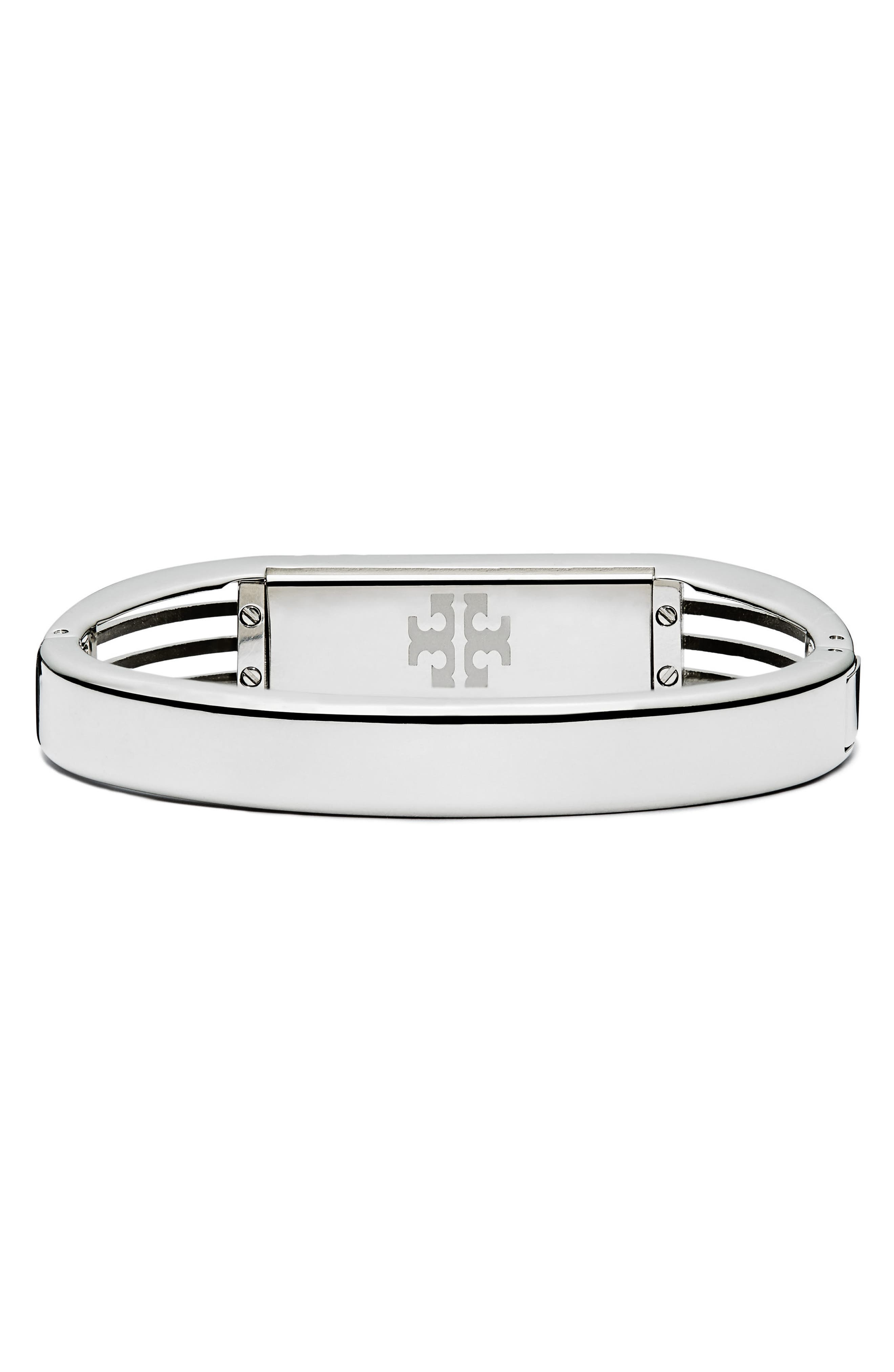 for Fitbit<sup>®</sup> Hinge Bracelet,                             Alternate thumbnail 3, color,                             Tory Silver