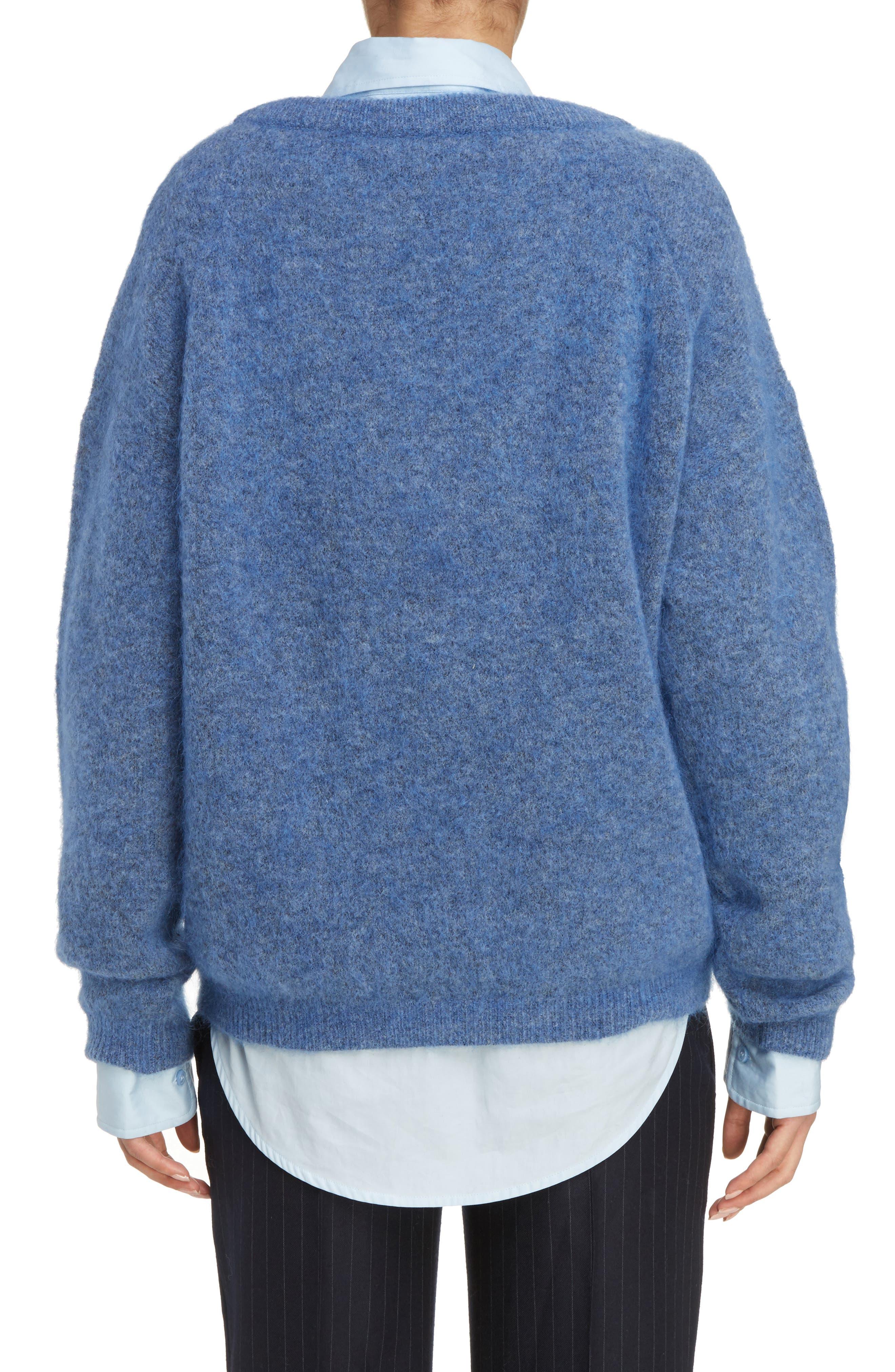 Alternate Image 2  - ACNE Studios Dramatic Oversized Mohair Blend Sweater