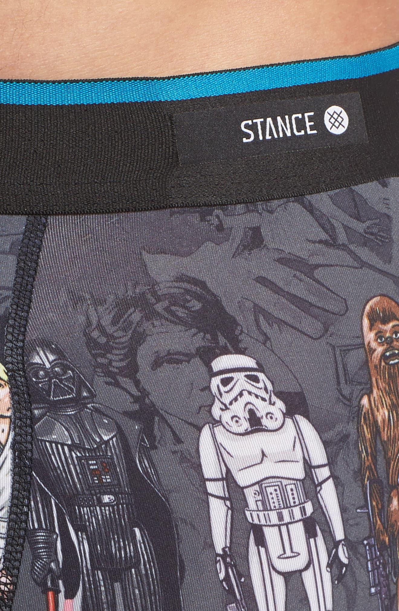 Star Wars<sup>™</sup> Boxer Briefs,                             Alternate thumbnail 4, color,                             Black