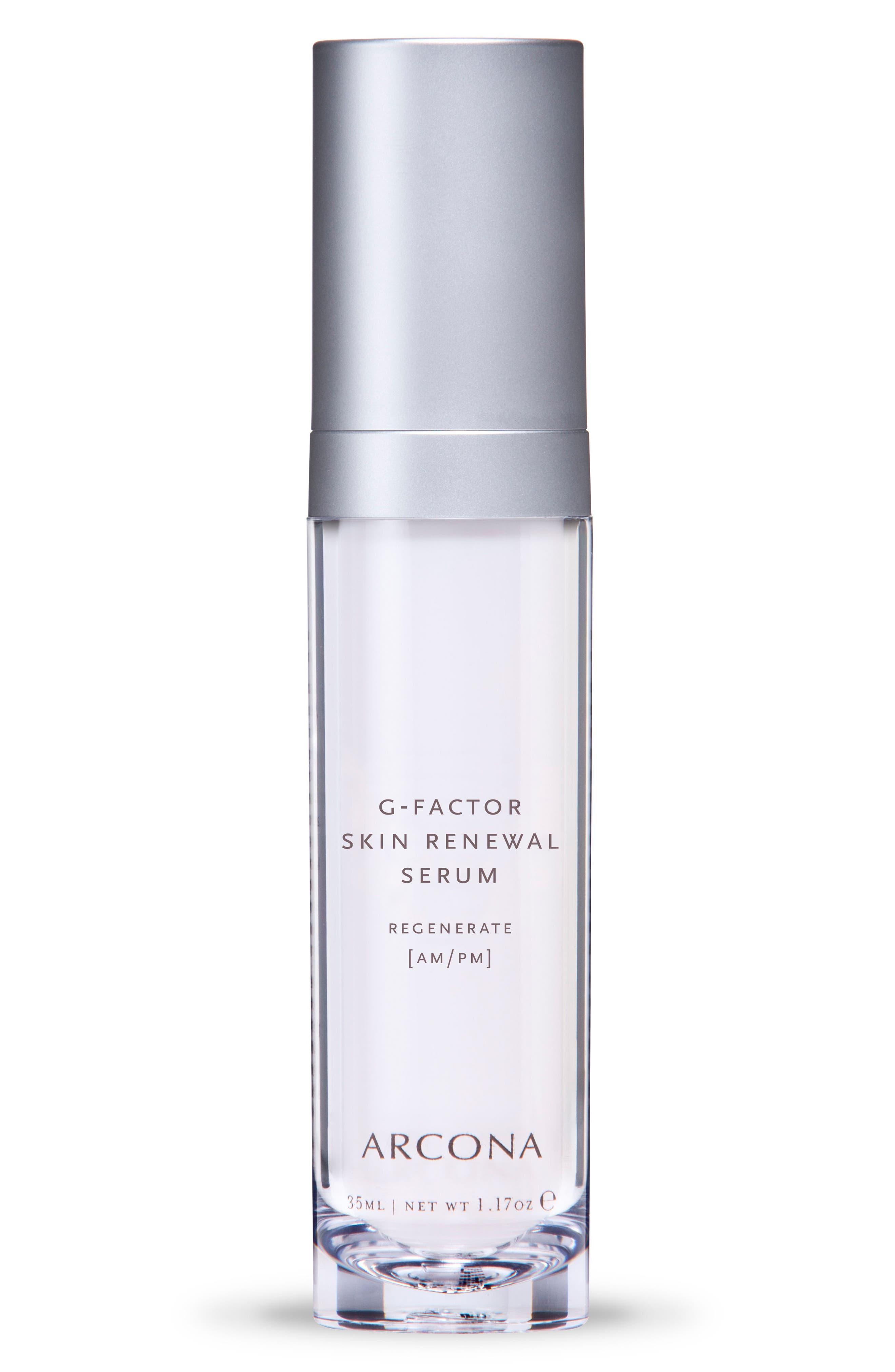 G-Factor Skin Renewal Serum,                             Main thumbnail 1, color,                             No Color
