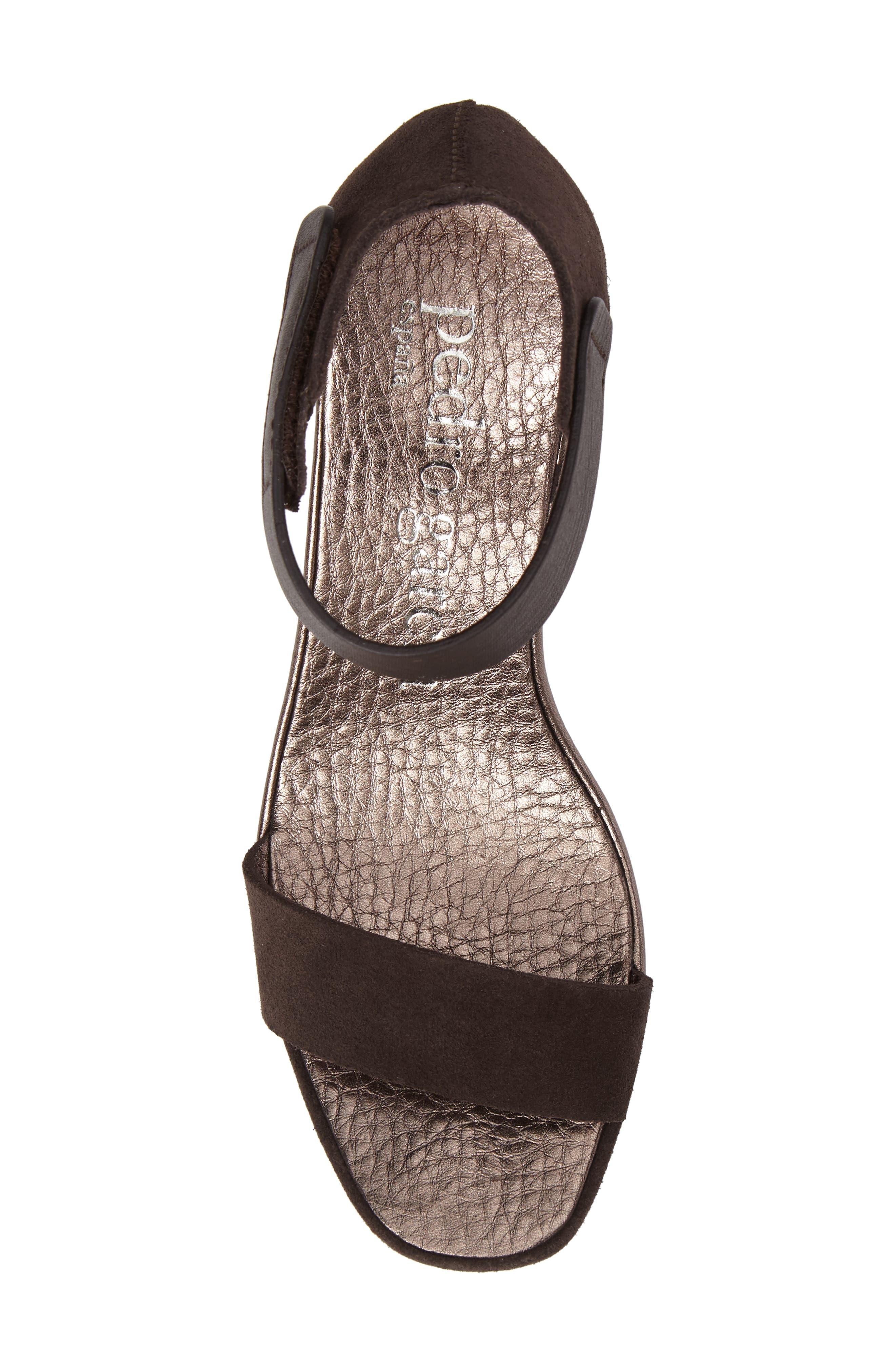 Alternate Image 5  - Pedro Garcia Fidelia Wedge Sandal (Women)