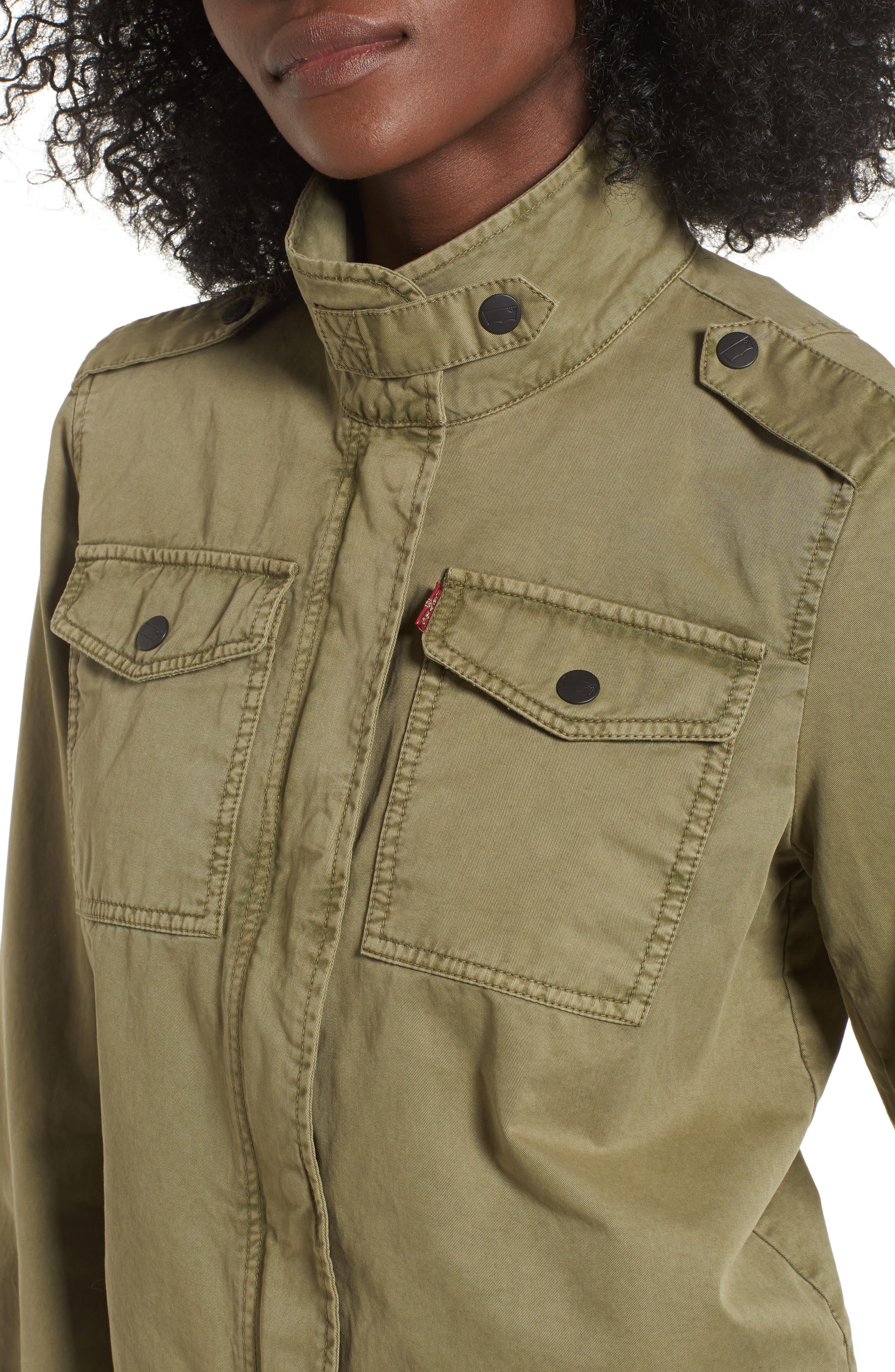 Alternate Image 4  - Levi's® Crop Military Jacket