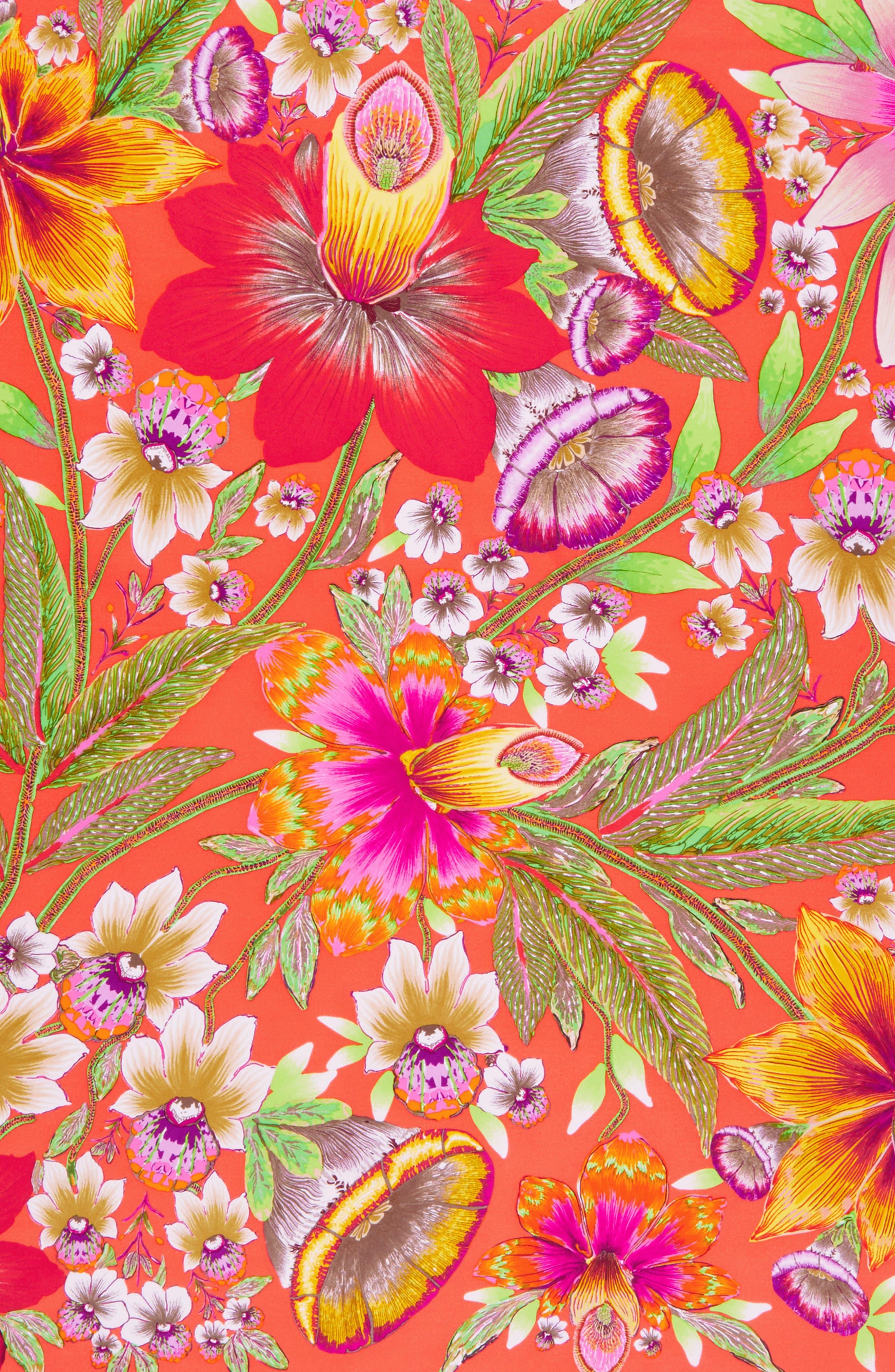 Alternate Image 3  - Echo Flora Silk Square Scarf