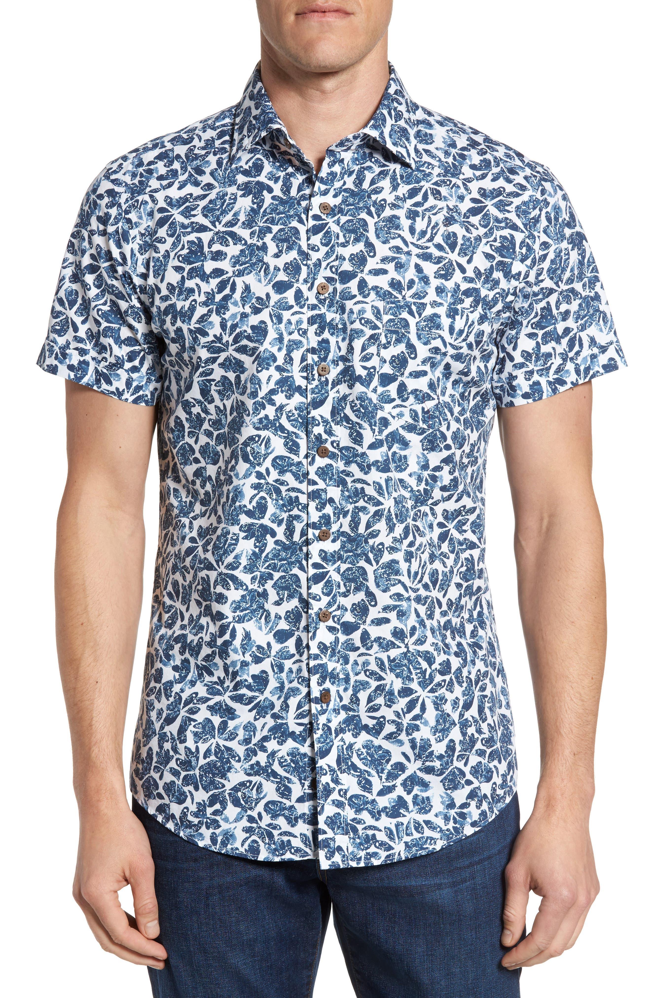 Rodd & Gunn Camwell Regular Fit Print Sport Shirt