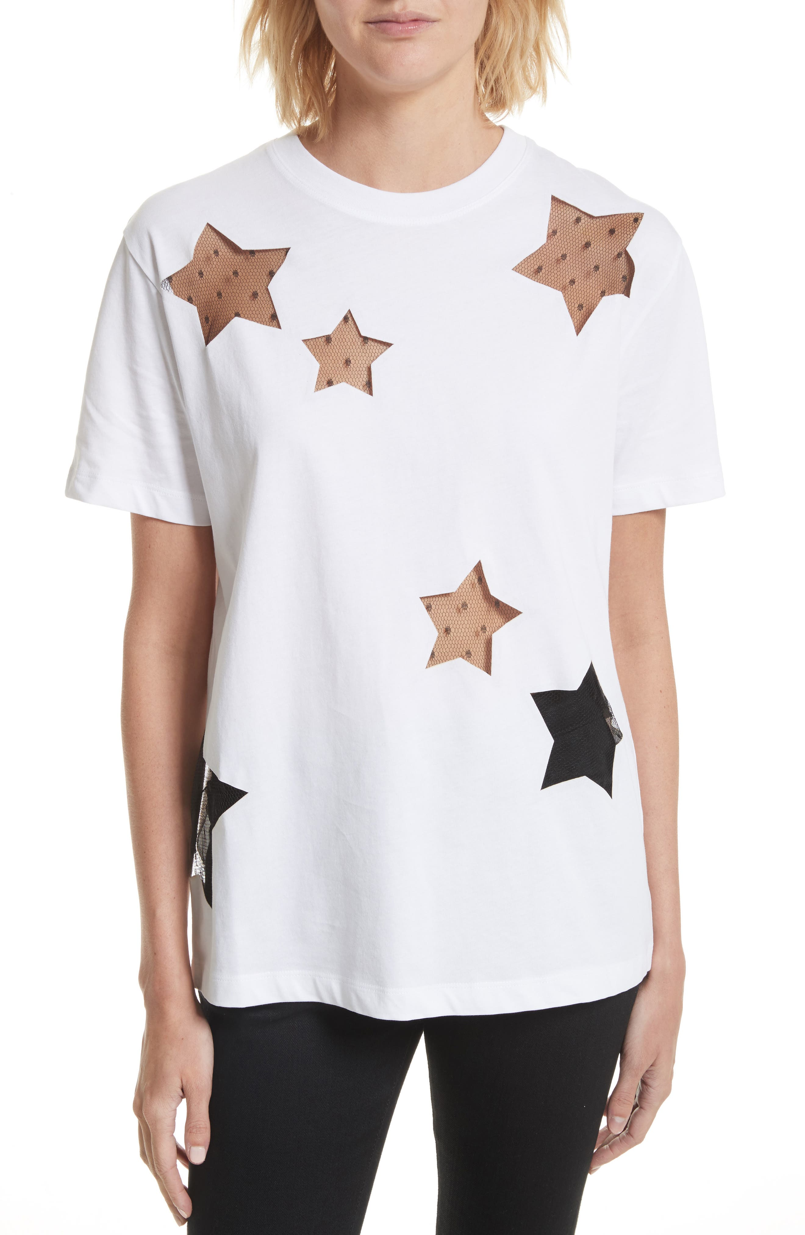 Alternate Image 1 Selected - RED Valentino Stars Tee