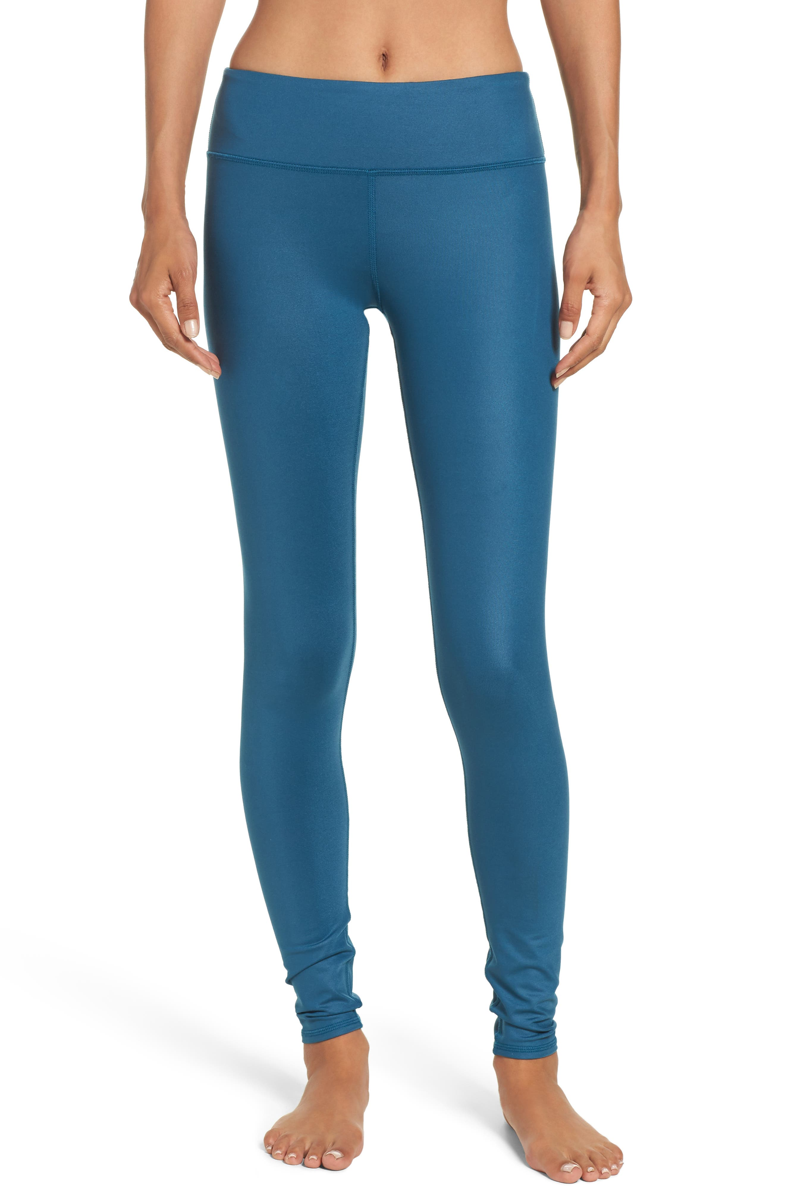 Alo Airbrushed Glossy Leggings
