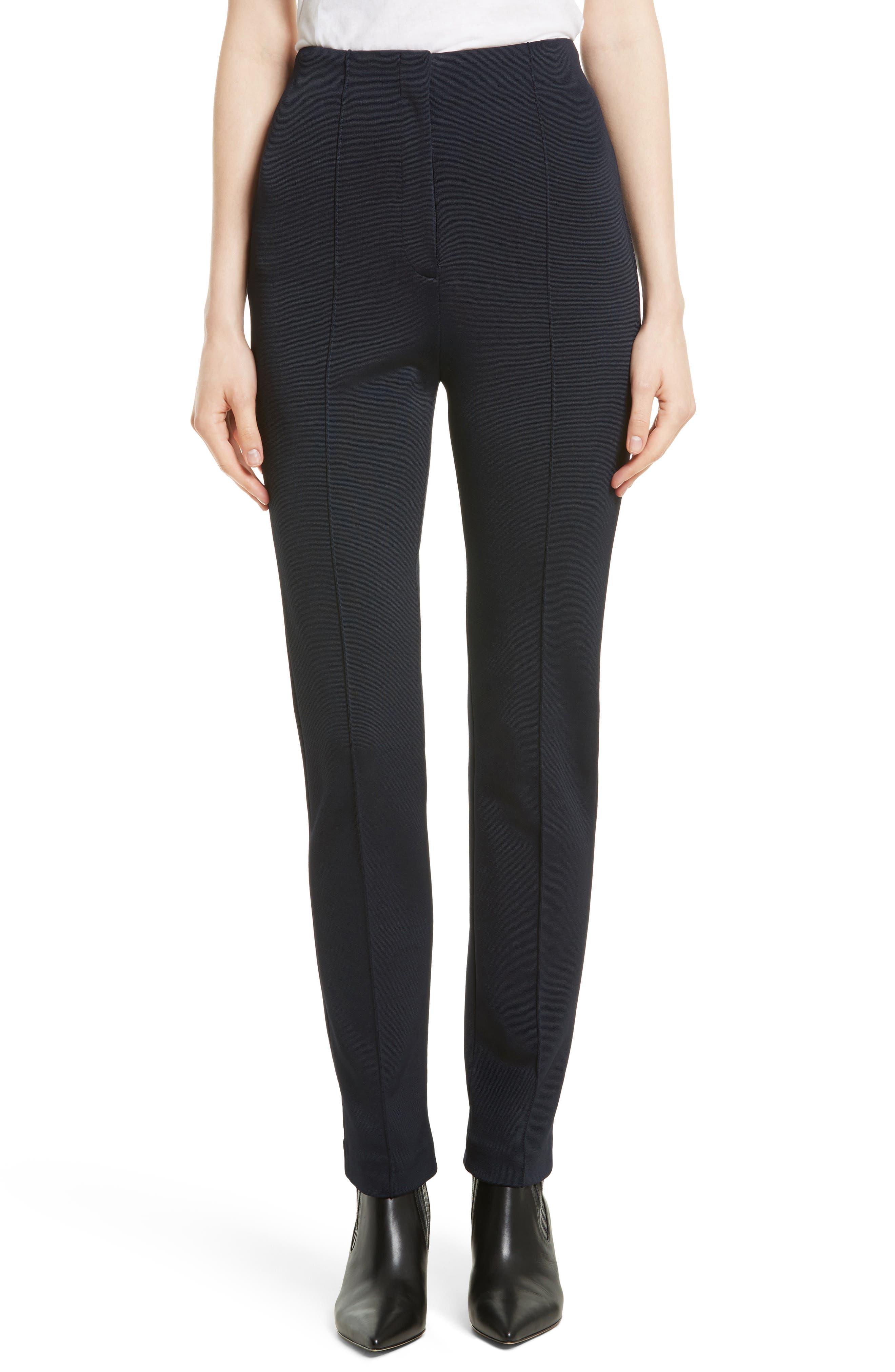 Main Image - Diane von Furstenberg High Waist Skinny Pants