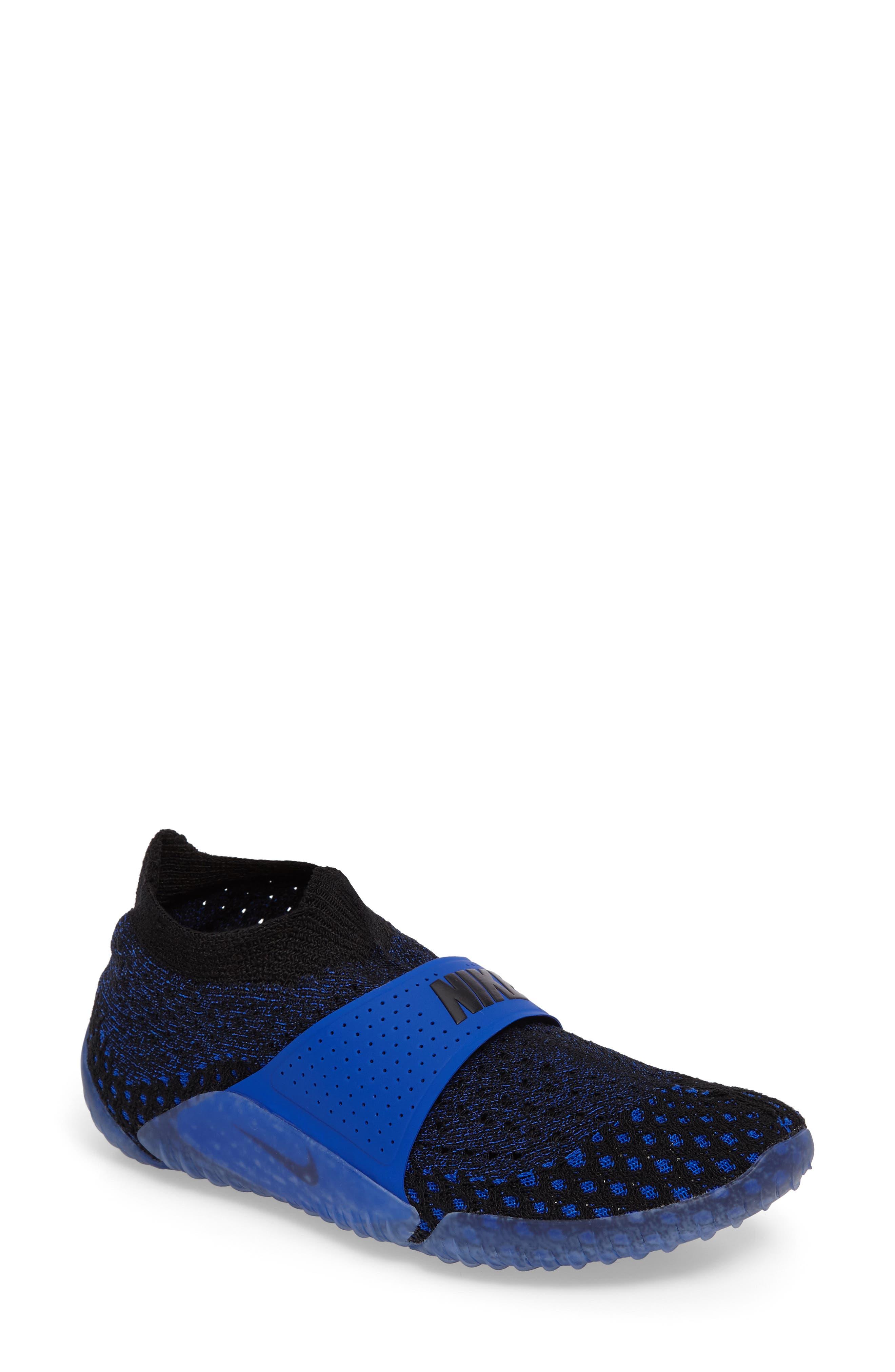 City Knife 3 Flyknit Sneaker,                             Main thumbnail 1, color,                             Racer Blue/ Black/ Black