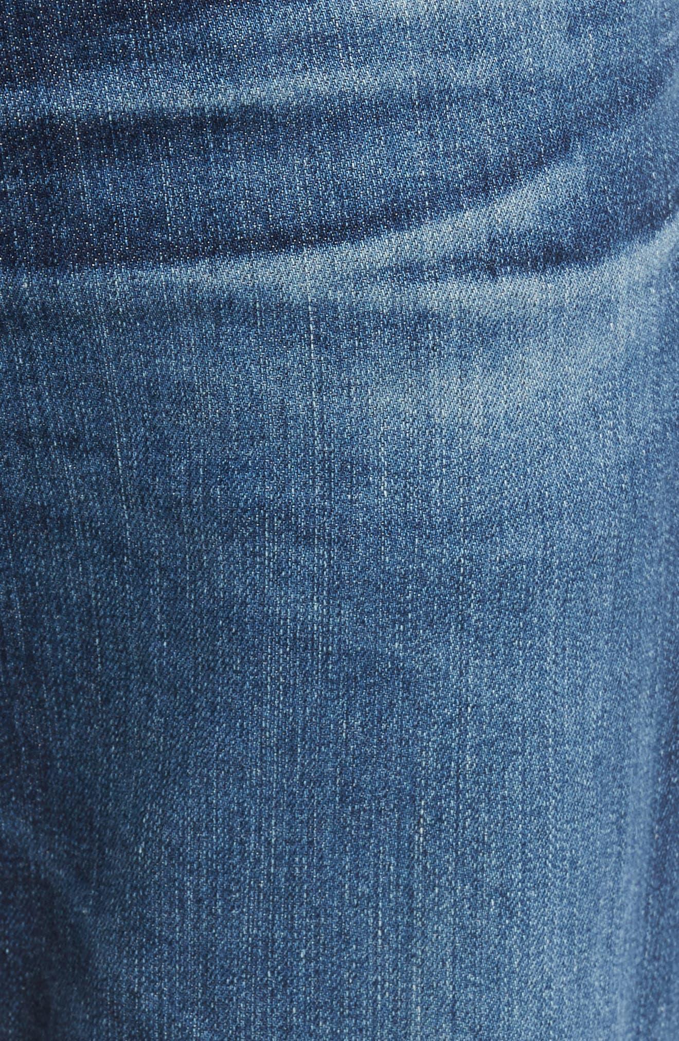Alternate Image 5  - AG Everett Slim Straight Leg Jeans (13 Years Stasis)