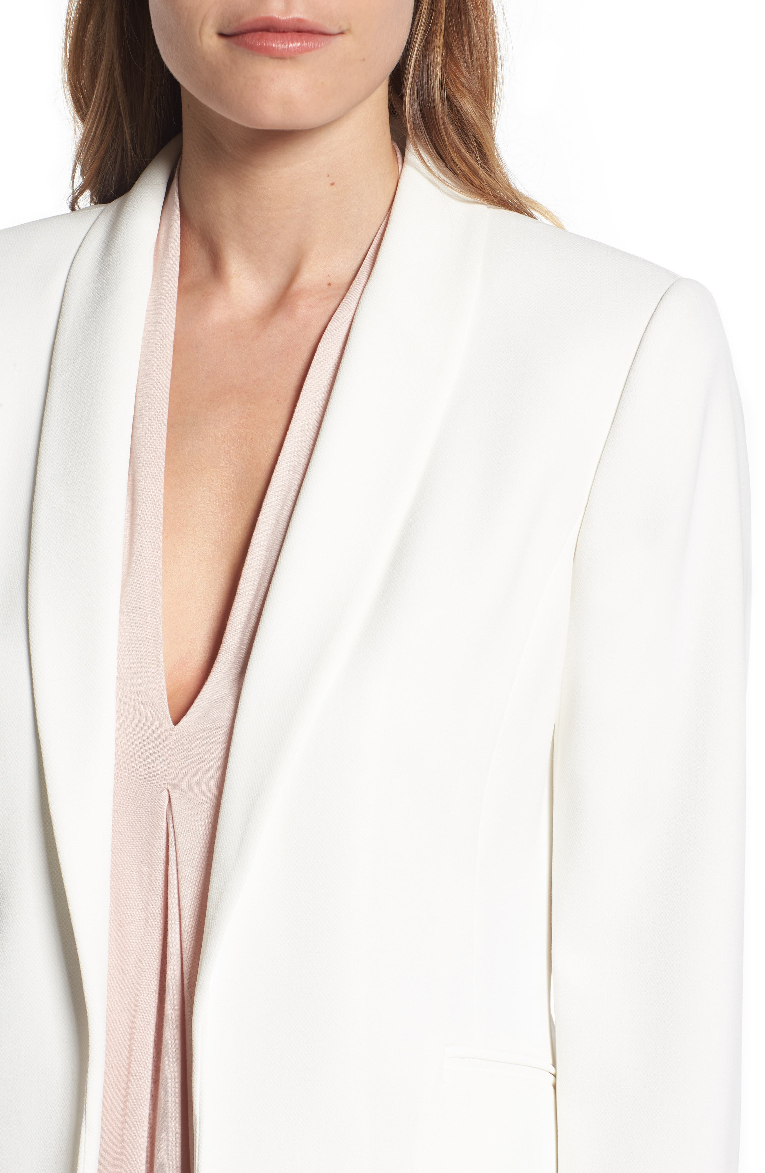 Alternate Image 4  - Vince Camuto Texture Base Blazer (Regular & Petite)