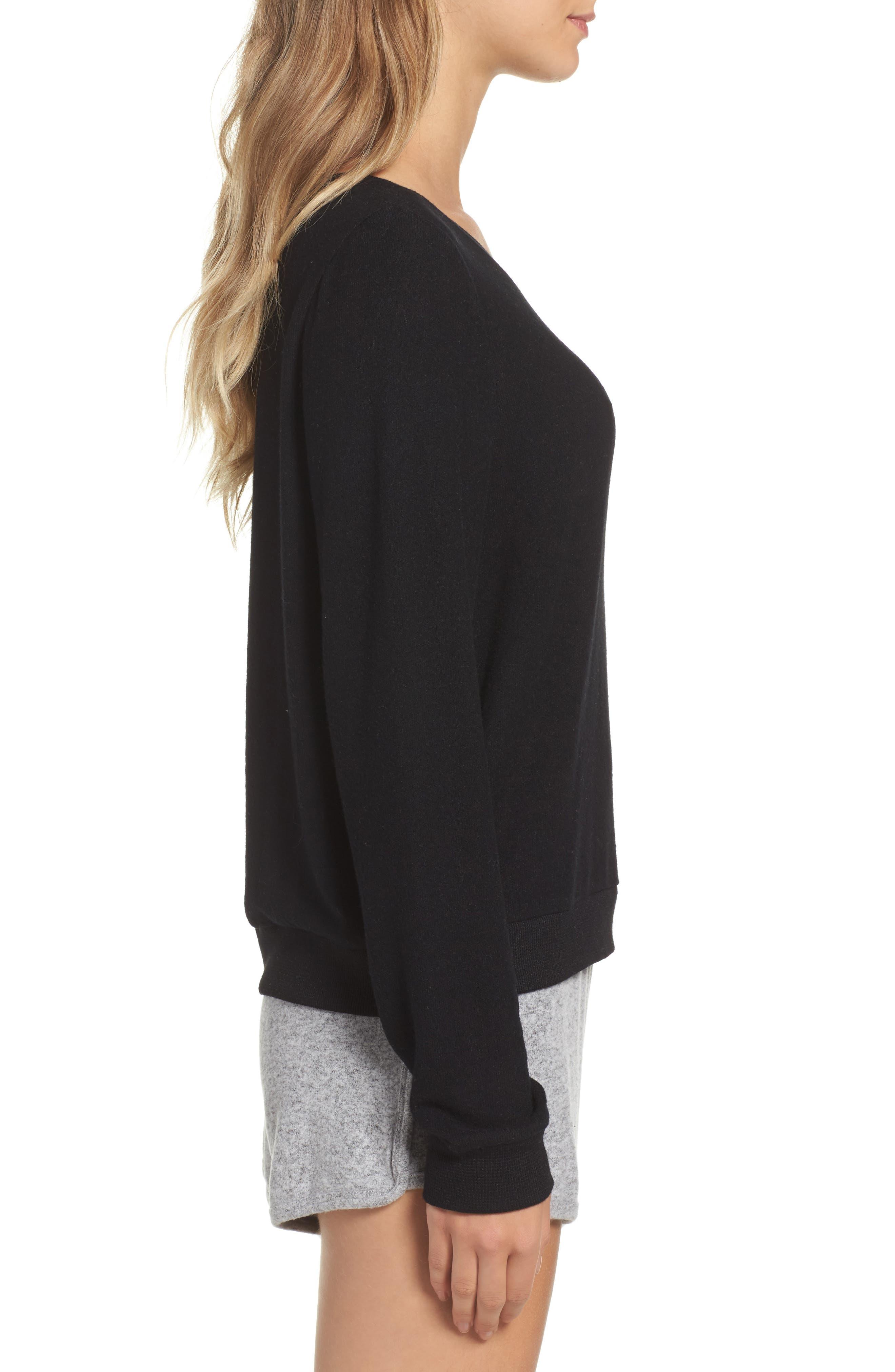 Alternate Image 3  - Make + Model Brushed Hacci Sweatshirt