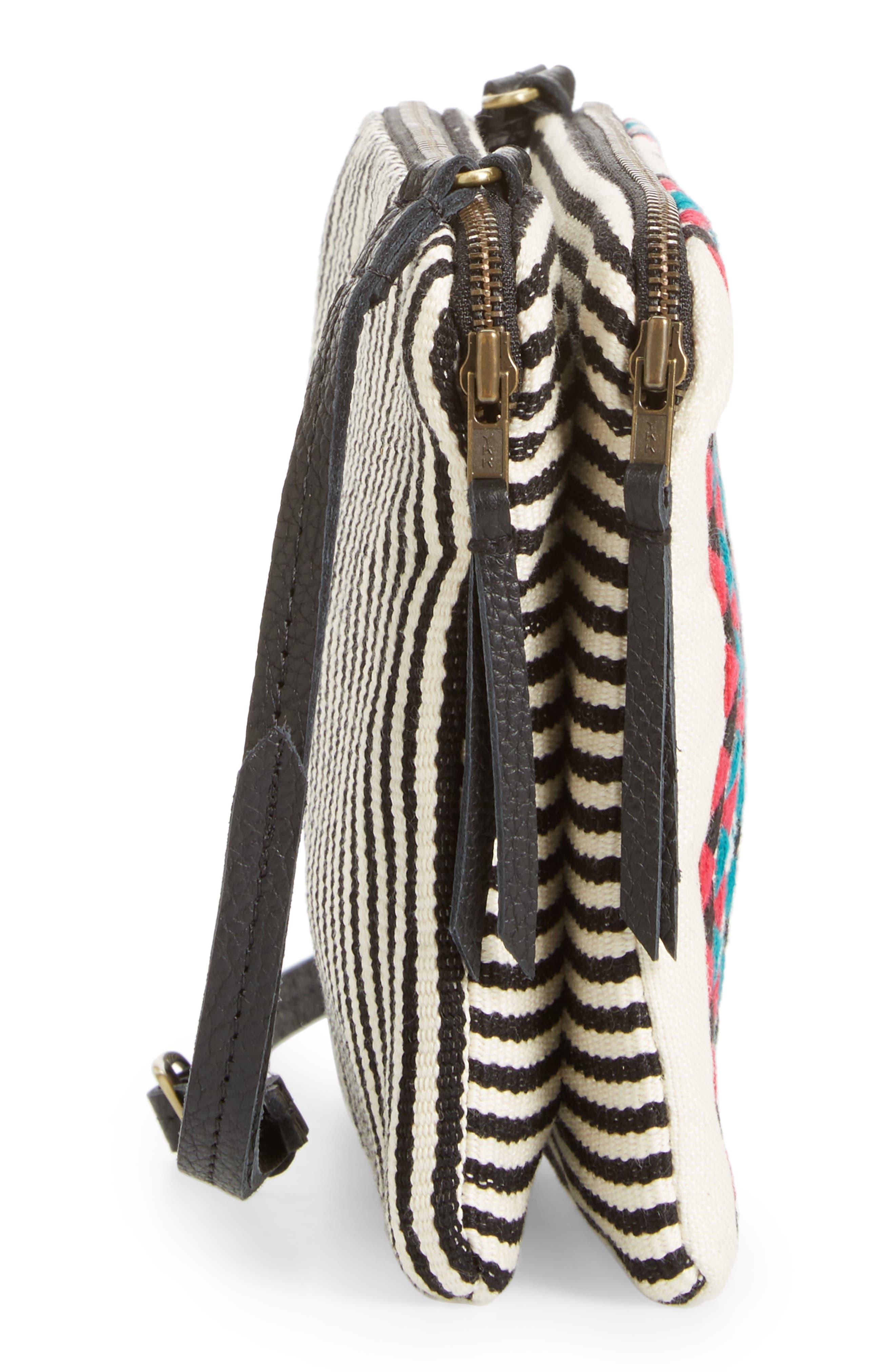 Alternate Image 4  - Mercado Global Andrea Canvas Crossbody Bag
