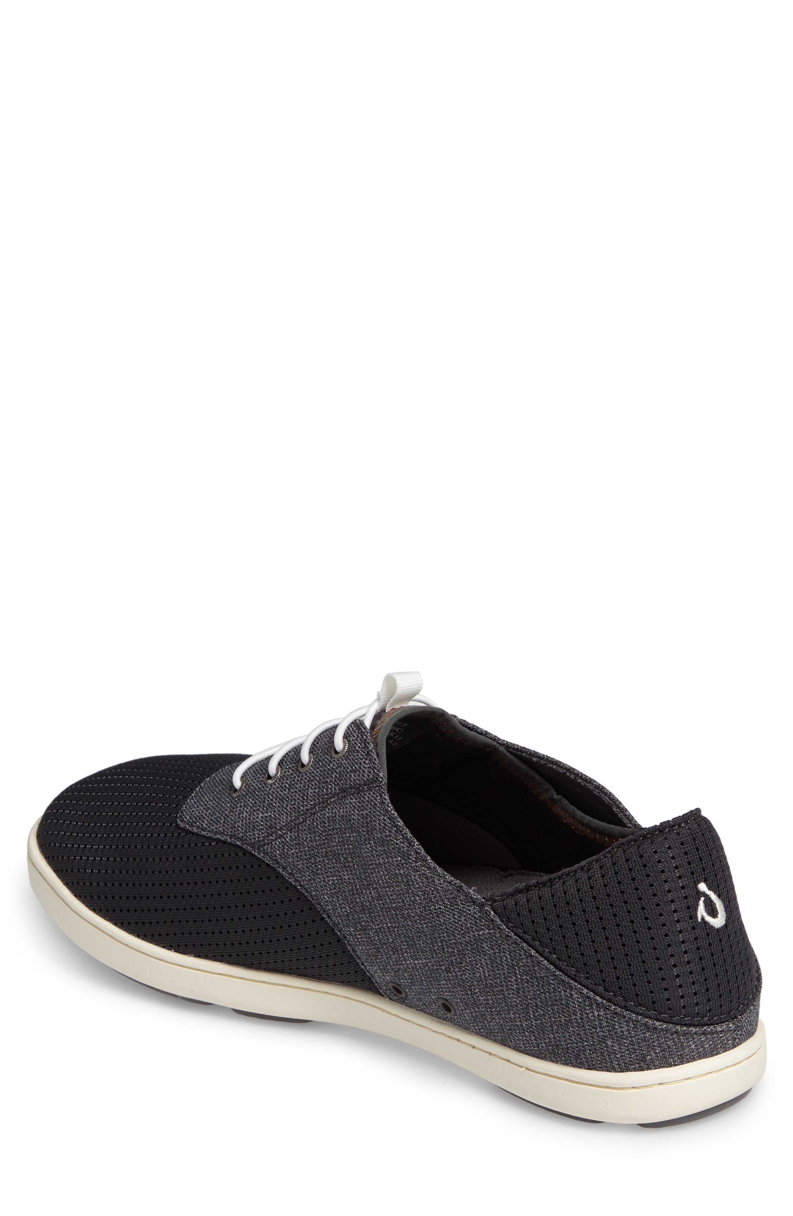 'Nohea Moku' Sneaker,                             Alternate thumbnail 2, color,                             Dark Shadow/ Dark Shadow