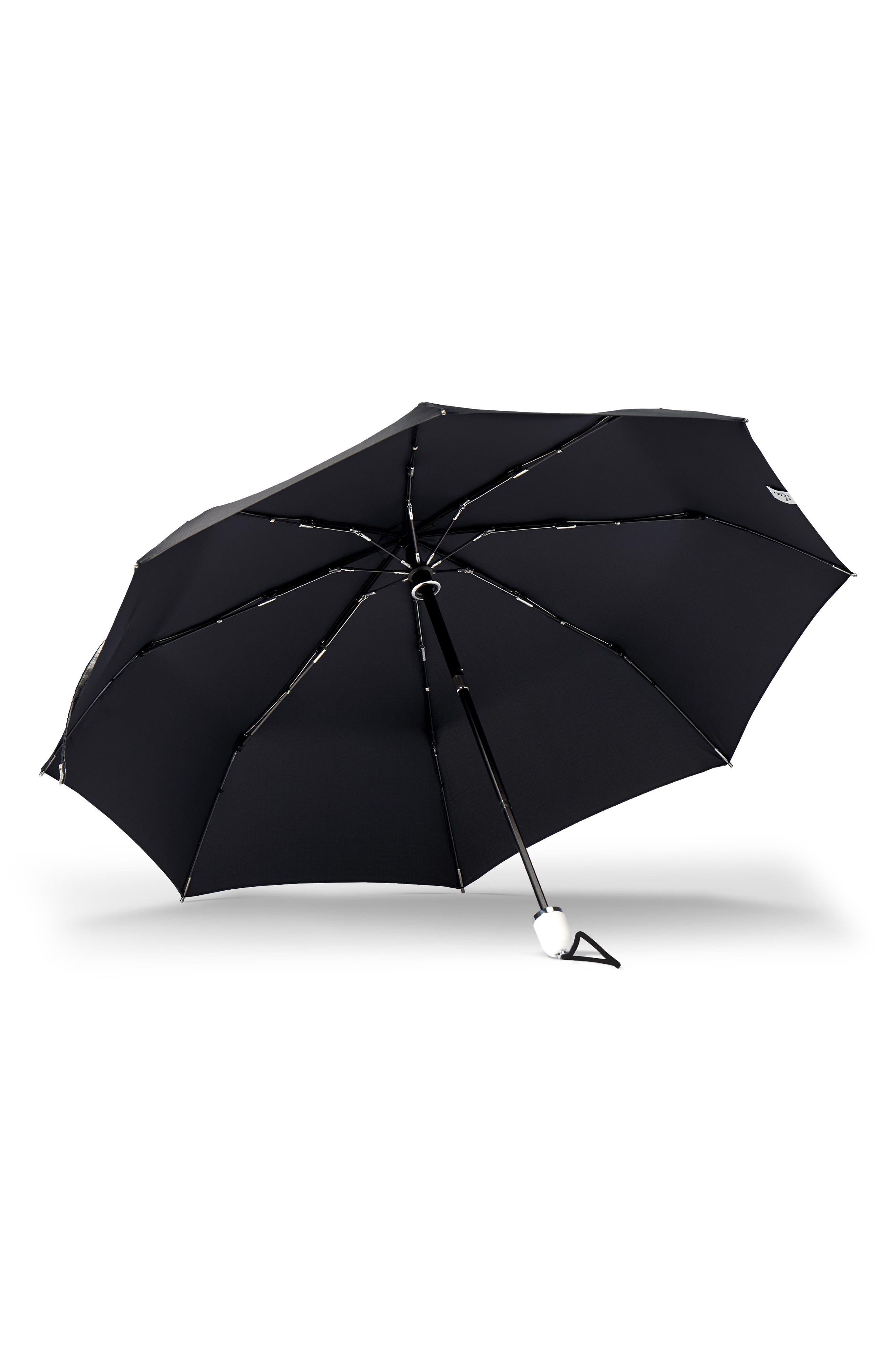 Alternate Image 2  - ShedRain Stratus Auto Open Compact Umbrella