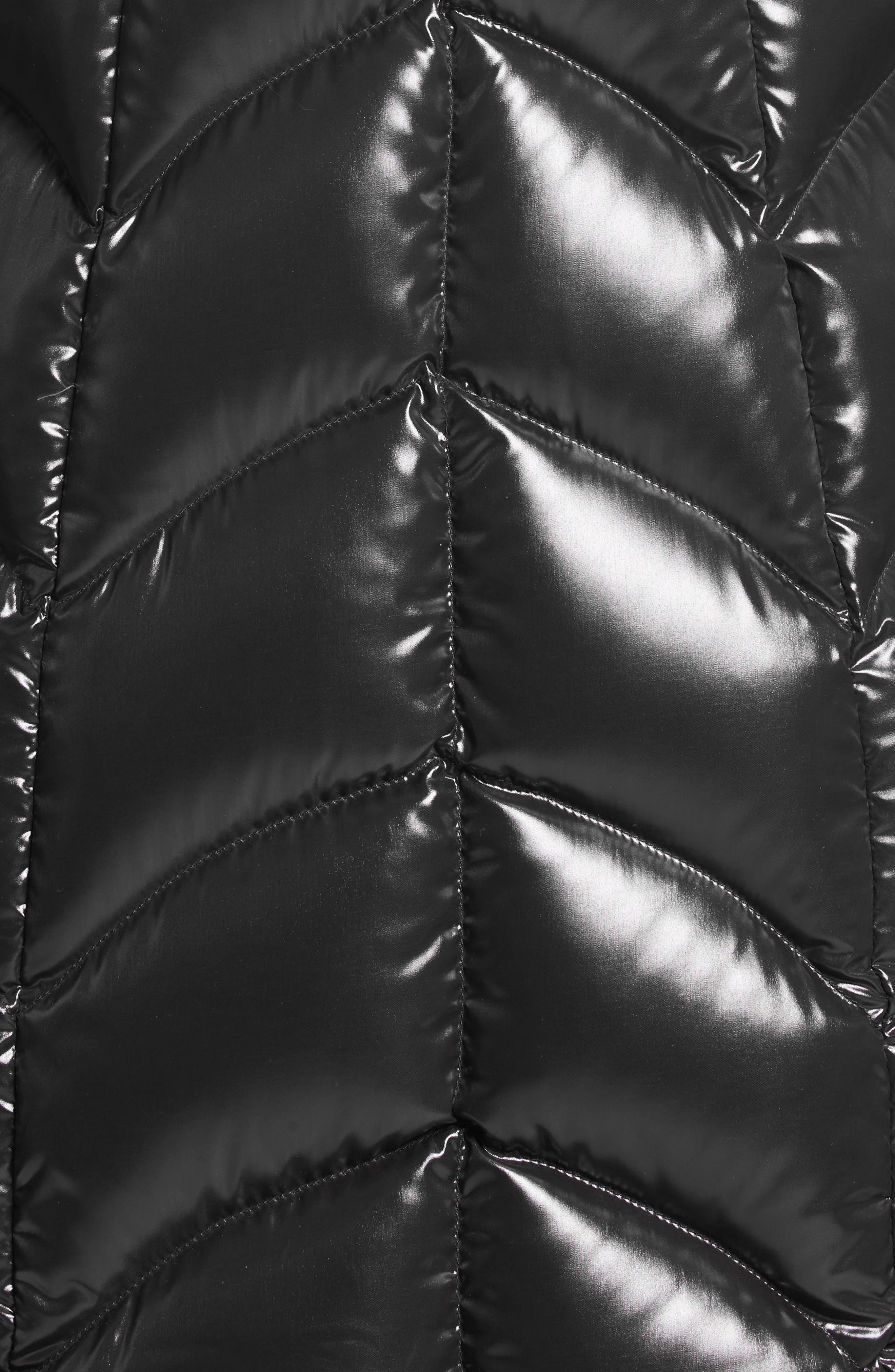 Alternate Image 5  - Moncler Albizia Down Puffer Coat with Genuine Fox Fur Trim