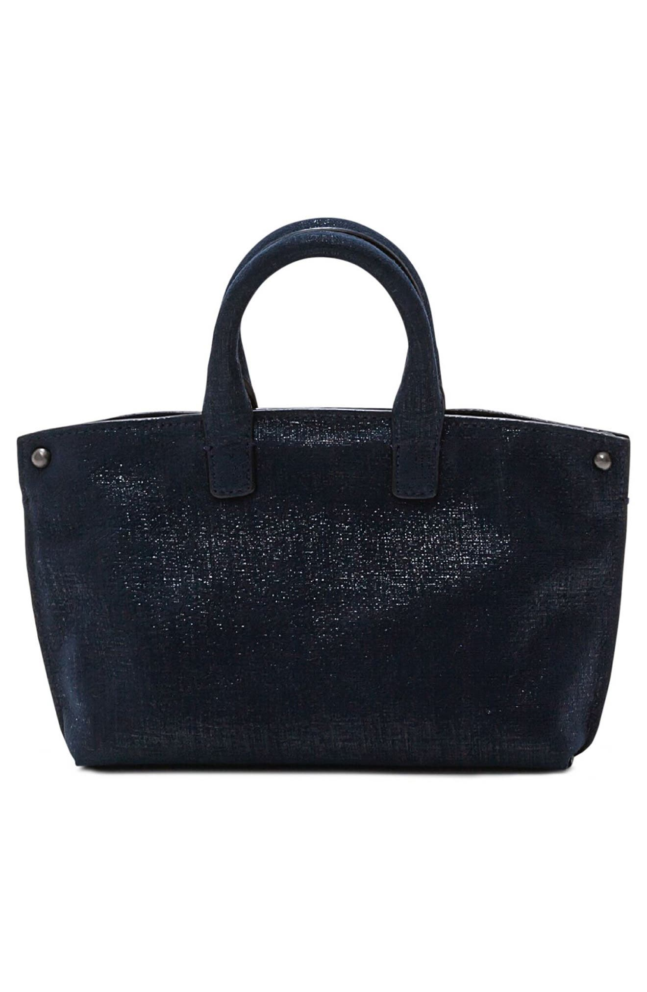 Alternate Image 2  - Akris Tasche Micro Leather Crossbody Bag