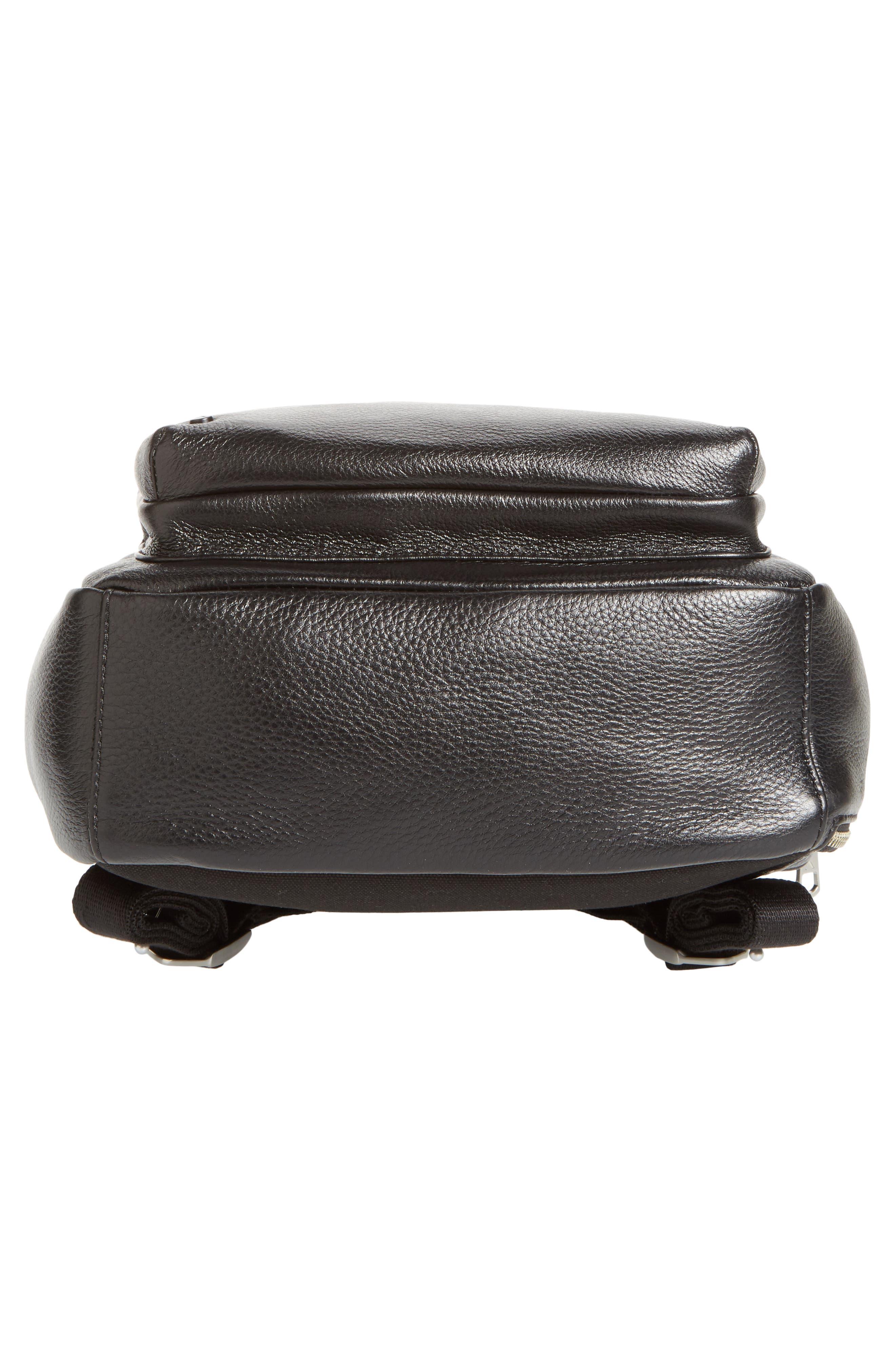 Alternate Image 6  - STATE Bags Greenwood Mini Lorimer Leather Backpack