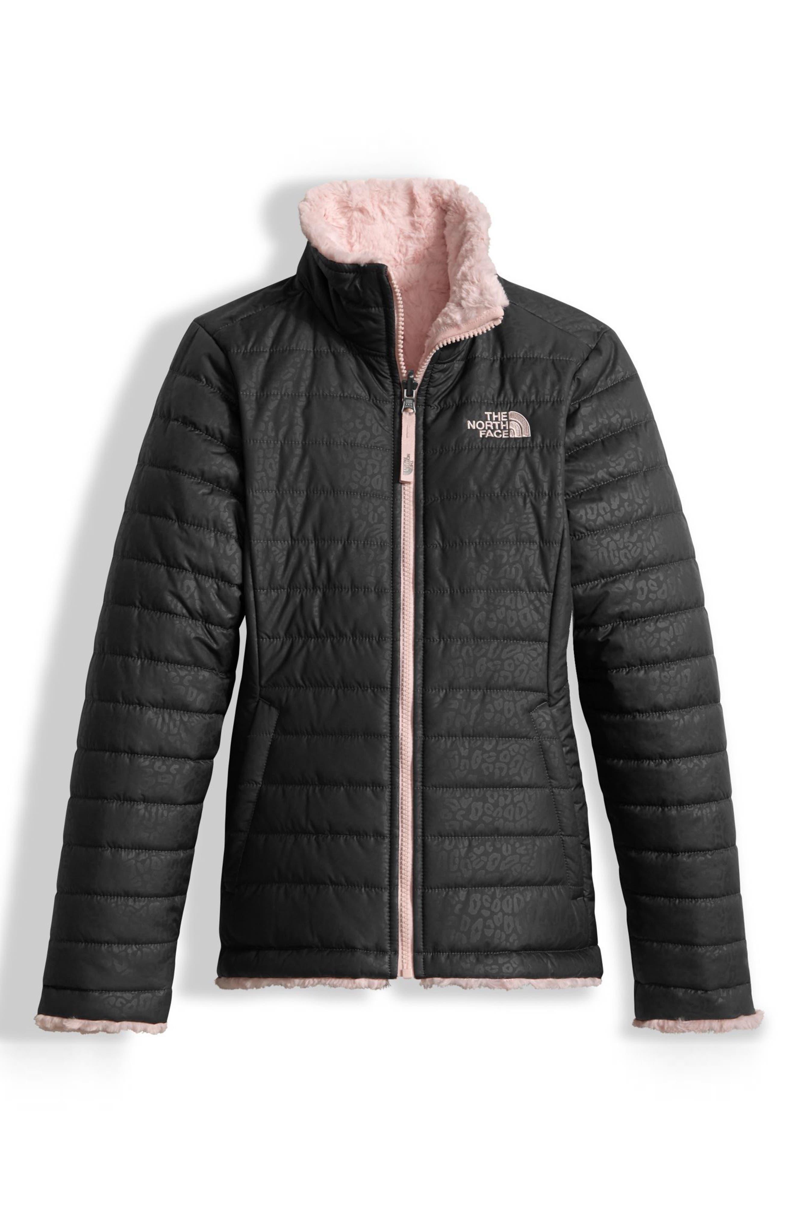 Mossbud Reversible Heatseeker<sup>™</sup> Wind Resistant Jacket,                             Main thumbnail 1, color,                             Graphite Grey