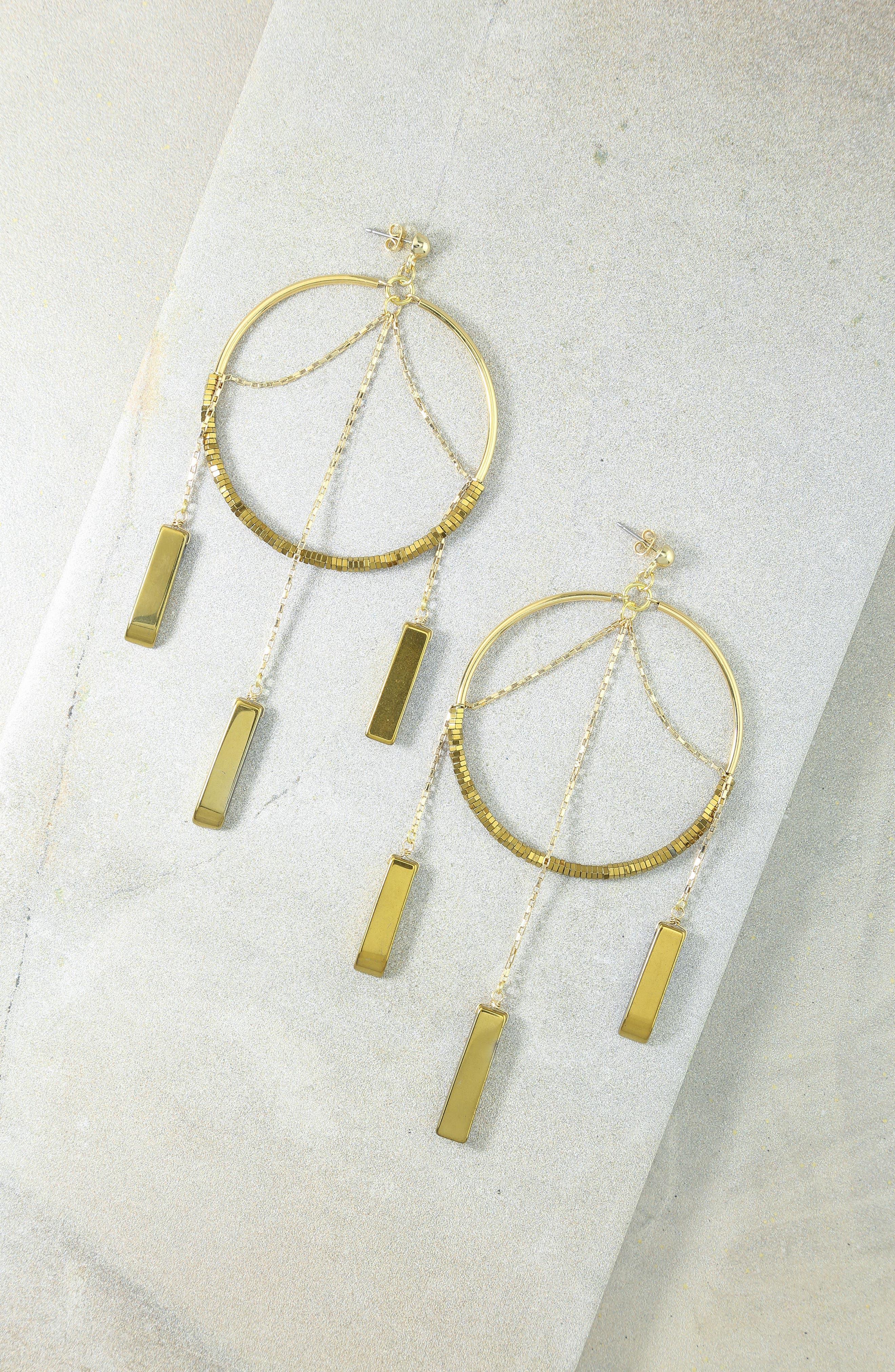 Alternate Image 3  - Vanessa Mooney The Meadows Hoop Earrings