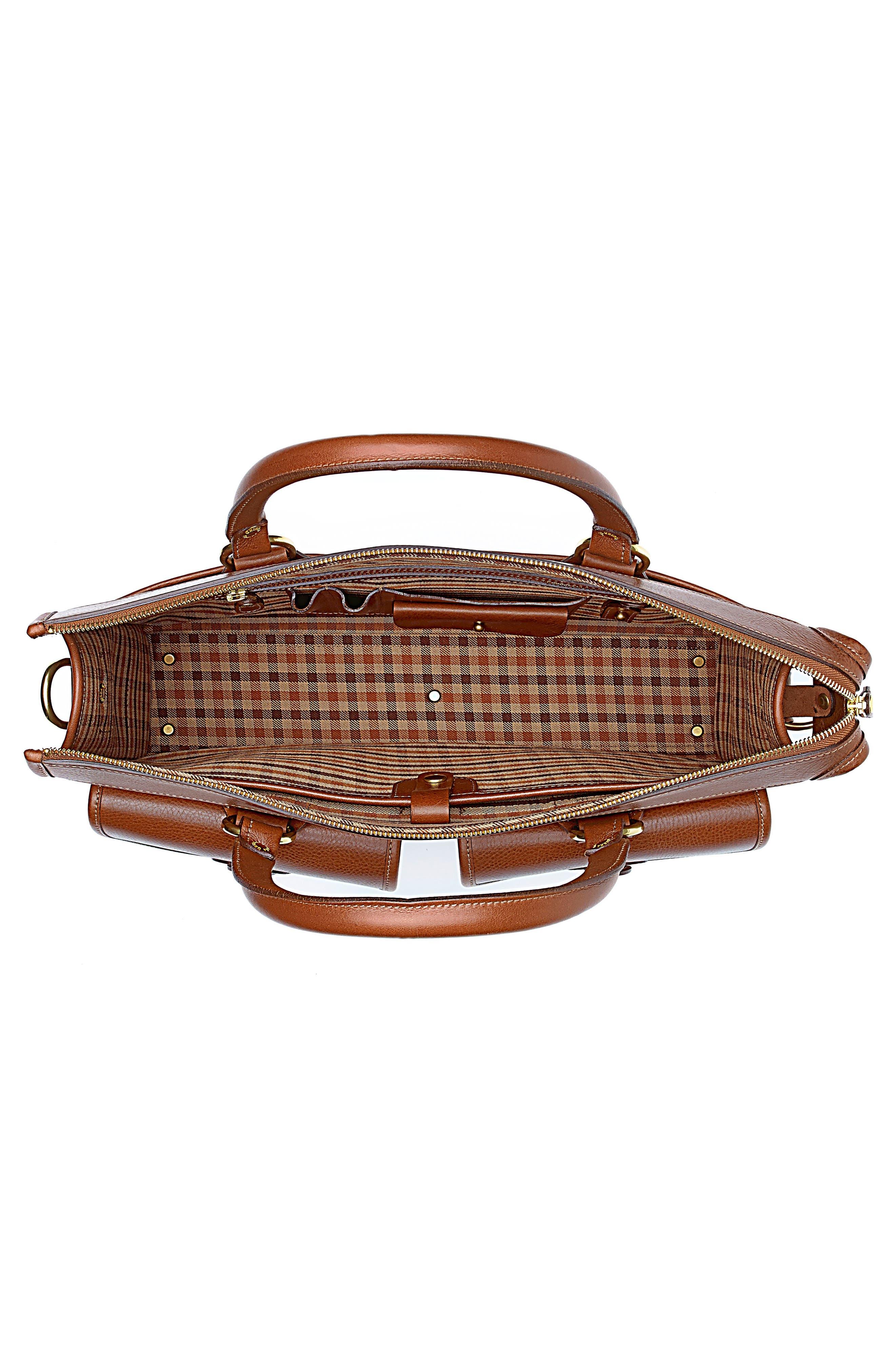 Alternate Image 3  - Ghurka 'Examiner' Leather Briefcase