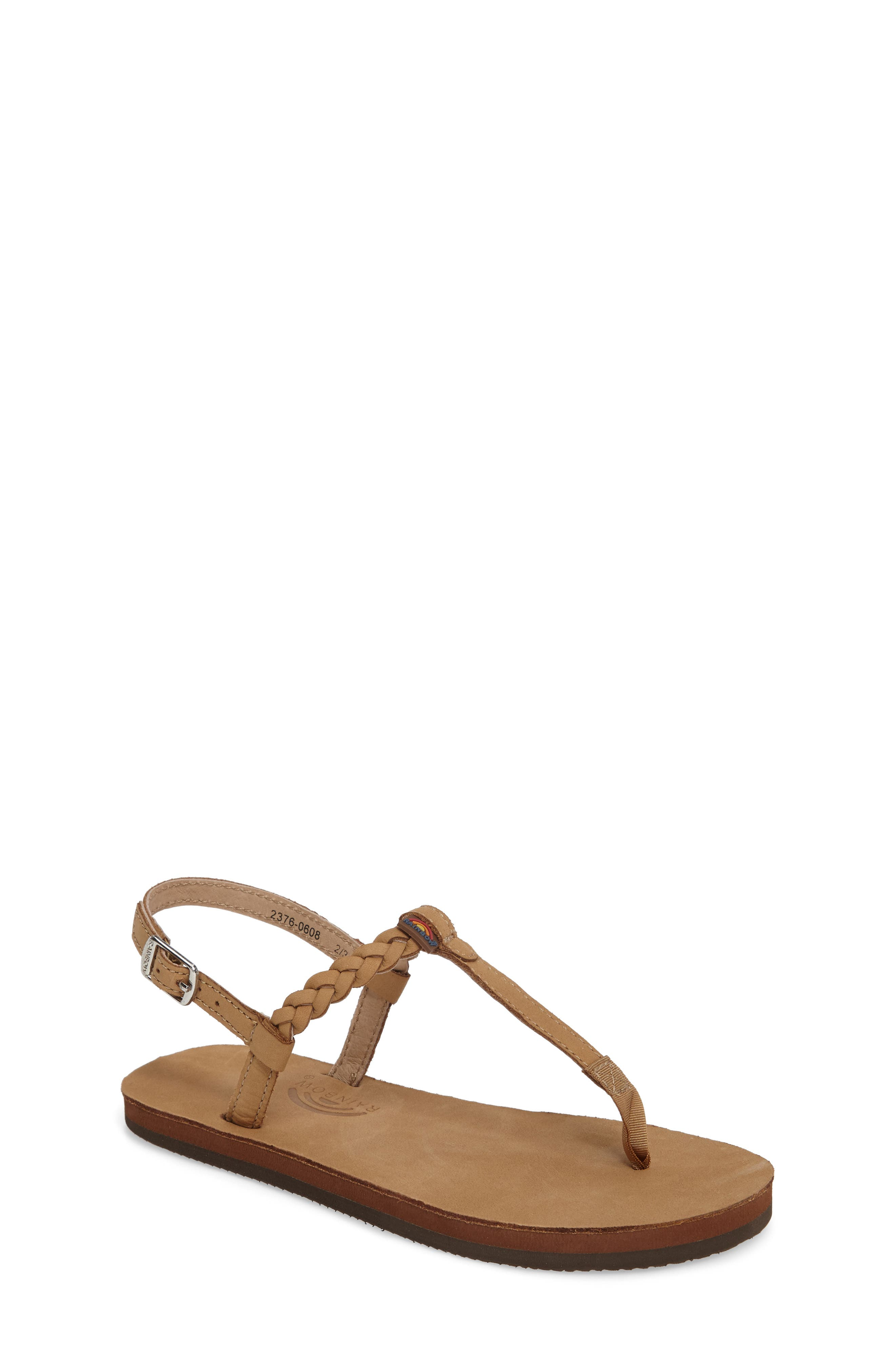 RAINBOW Sandals Sophia Braided T-Strap Sandal