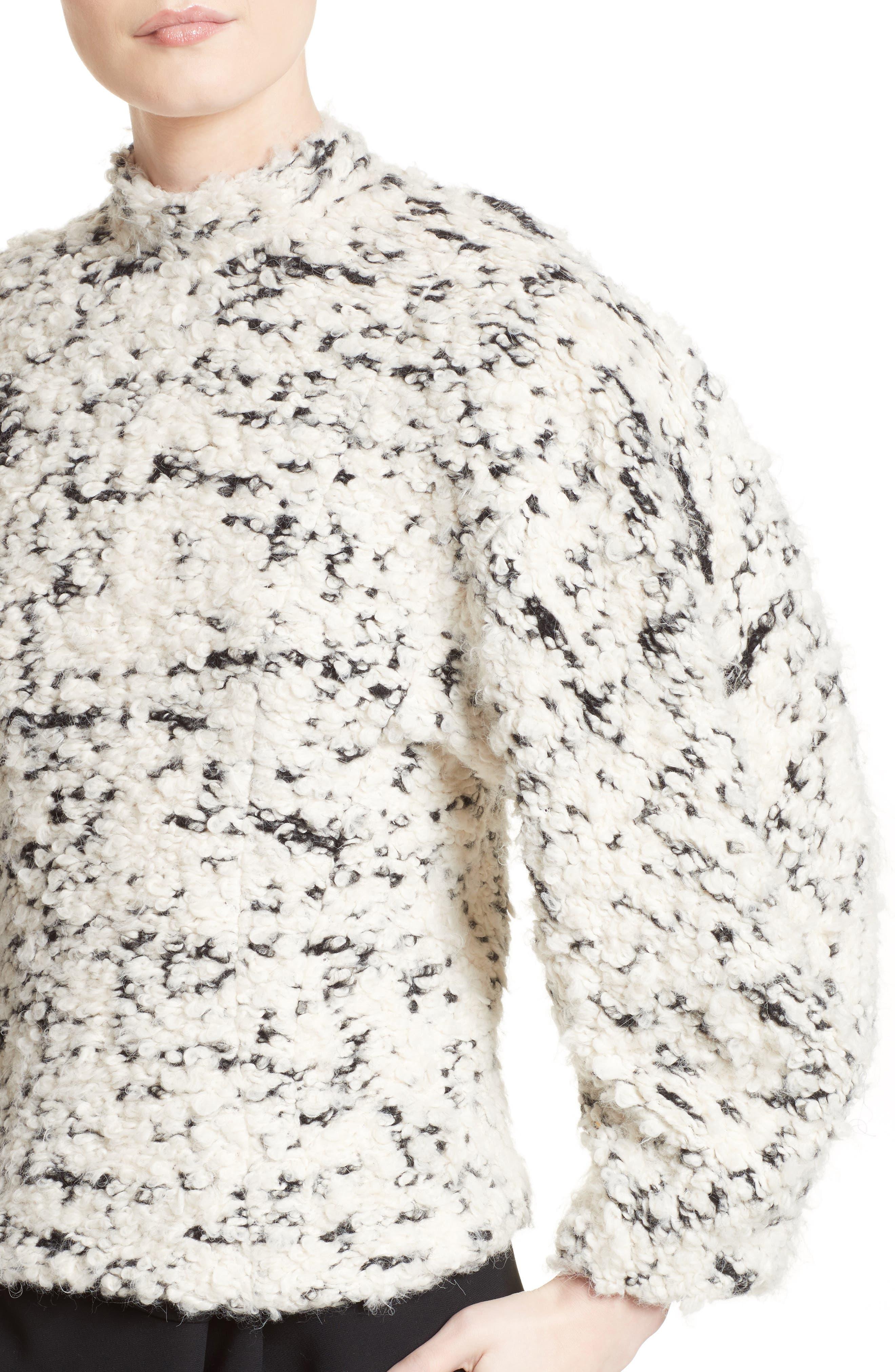 Alternate Image 4  - A.W.A.K.E. Textured Mock Neck Sweater