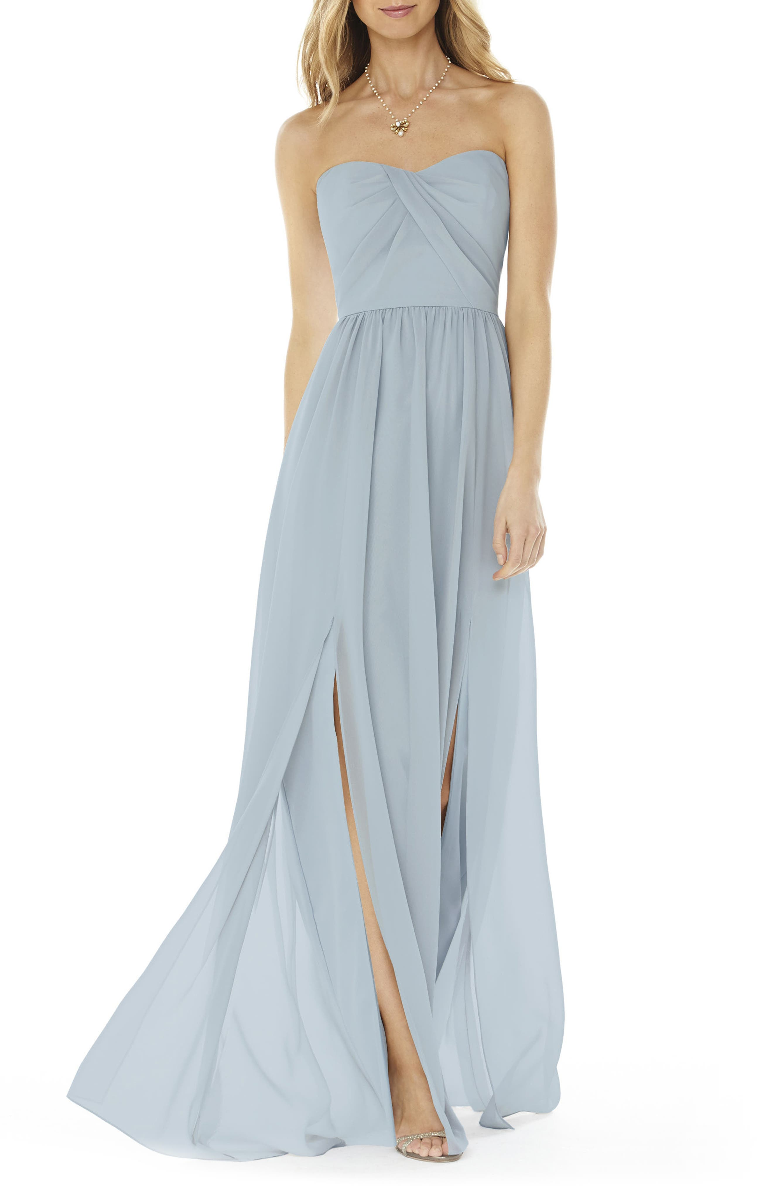 Grey Bridesmaid & Wedding Party Dresses