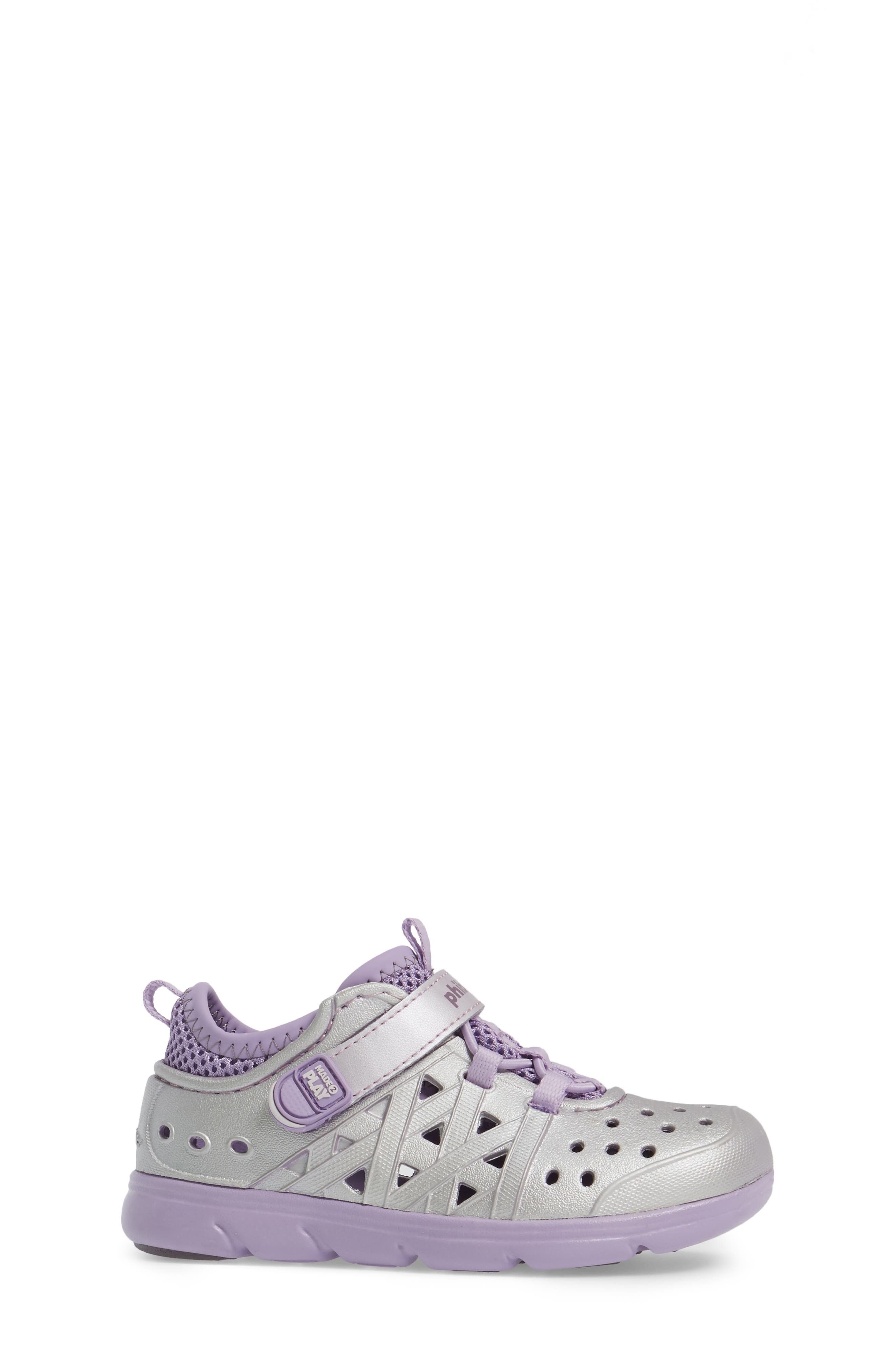 Made2Play<sup>®</sup> Phibian Sneaker,                             Alternate thumbnail 3, color,                             Purple Metallic