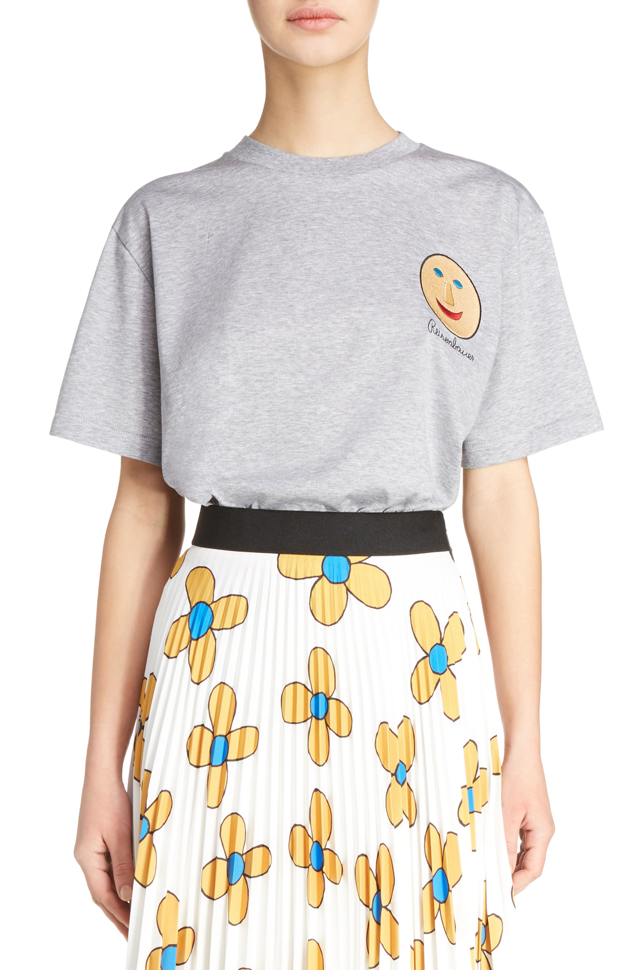 Christopher Kane Face Print Tee