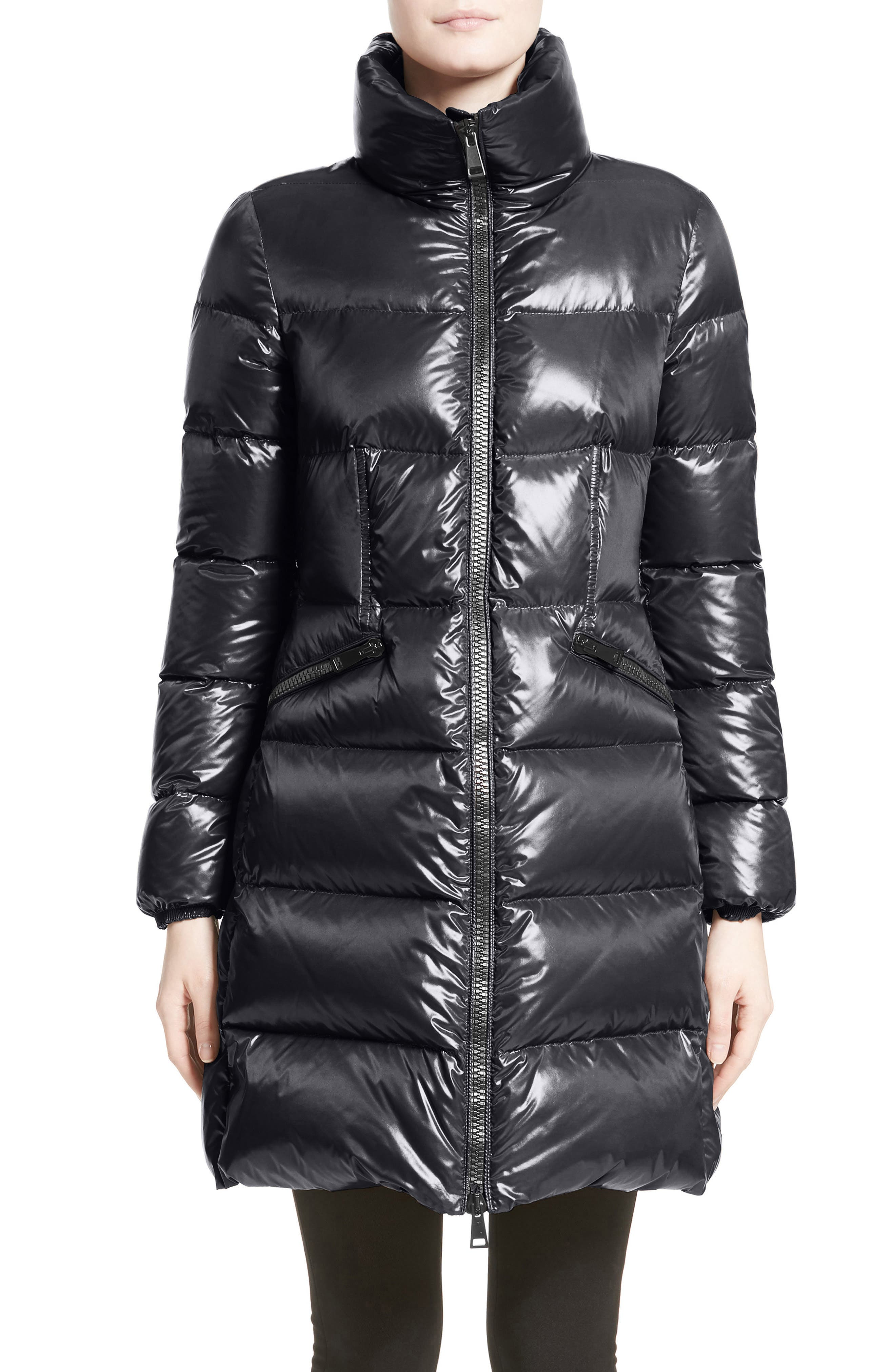 Moncler Jasminum Water Resistant Down Puffer Jacket