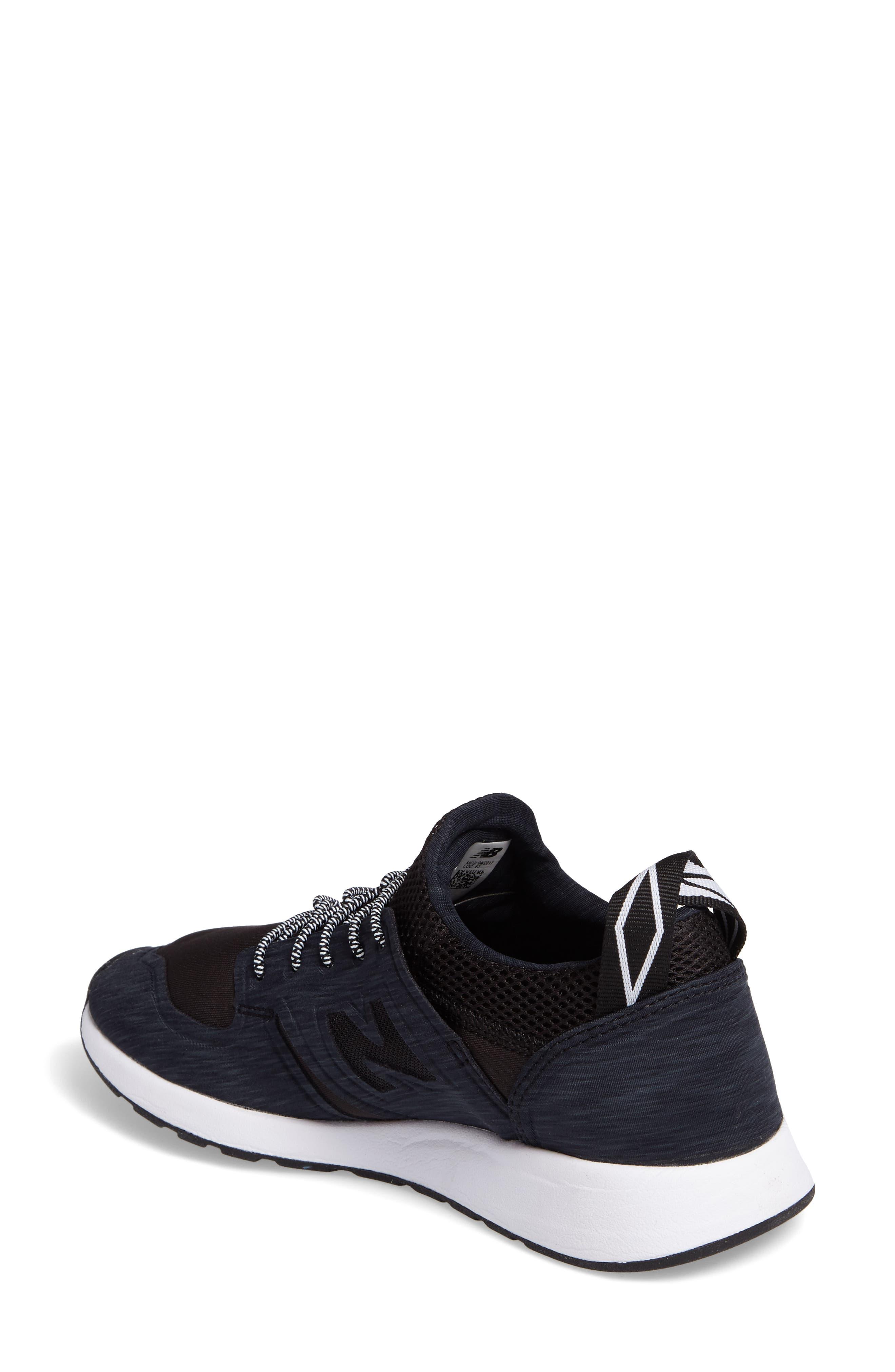 Sporty Style 420 Sneaker,                             Alternate thumbnail 2, color,                             Black