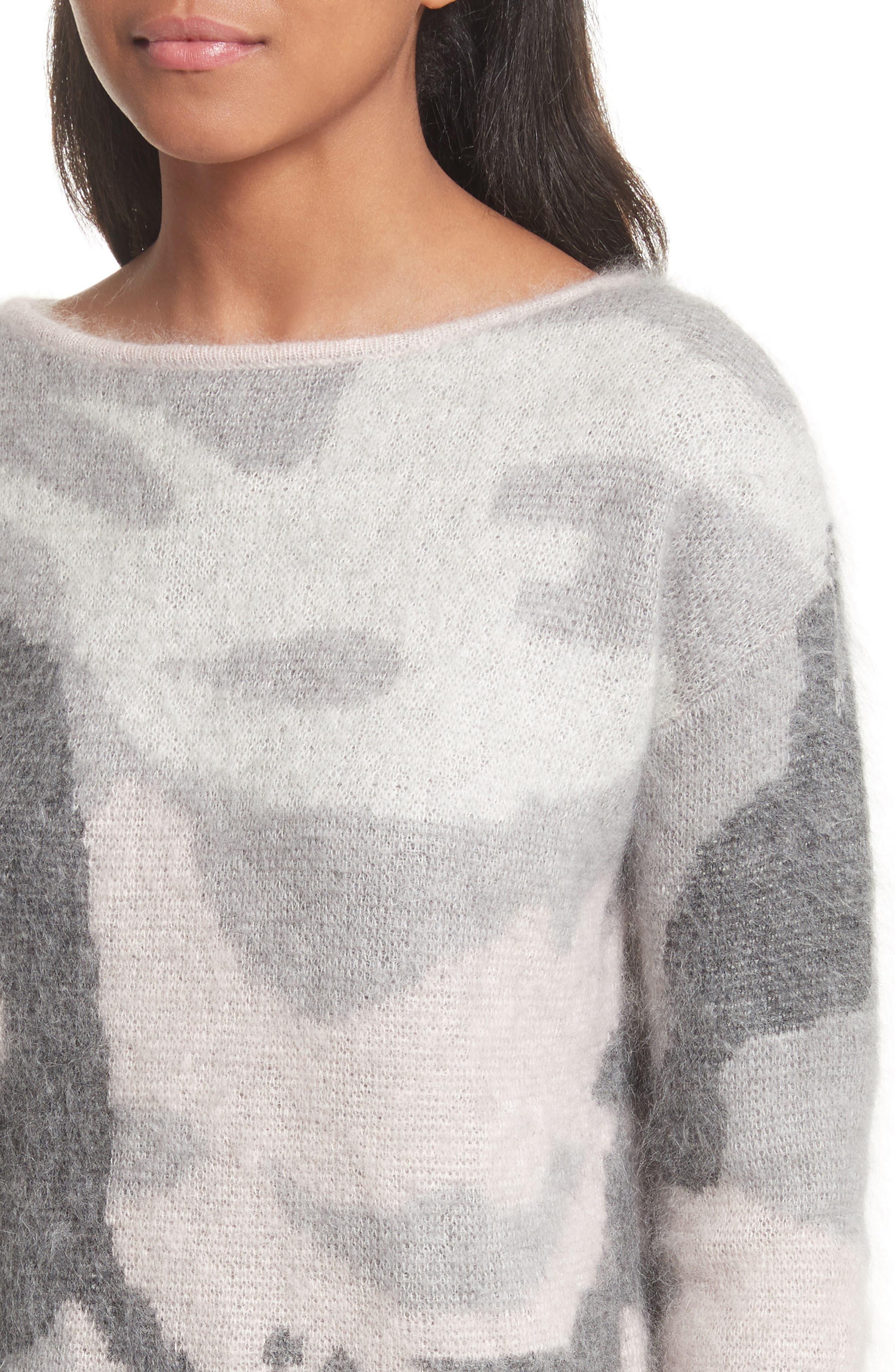 Alternate Image 5  - rag & bone Sinclair Camouflage Jacquard Sweater